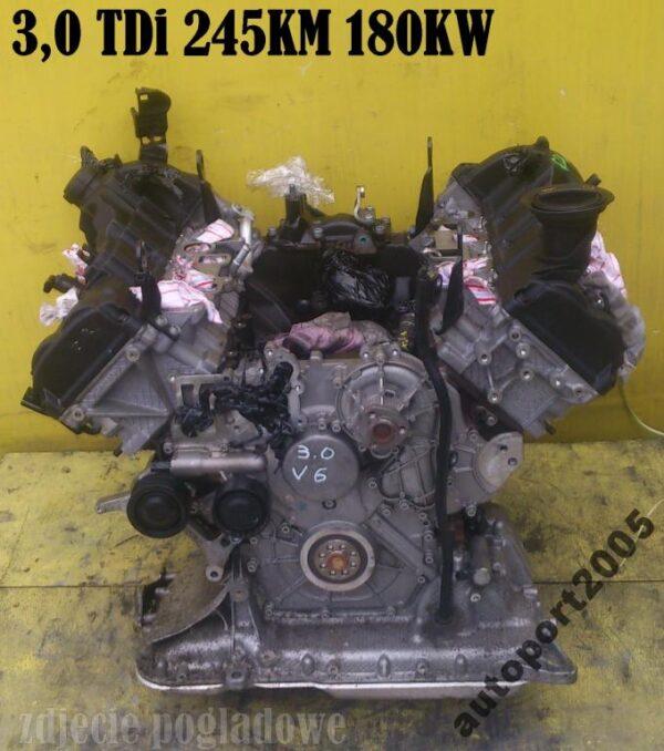 Silnik AUDI 3,0TDi V6 245KM CDU Quattro gwarancja