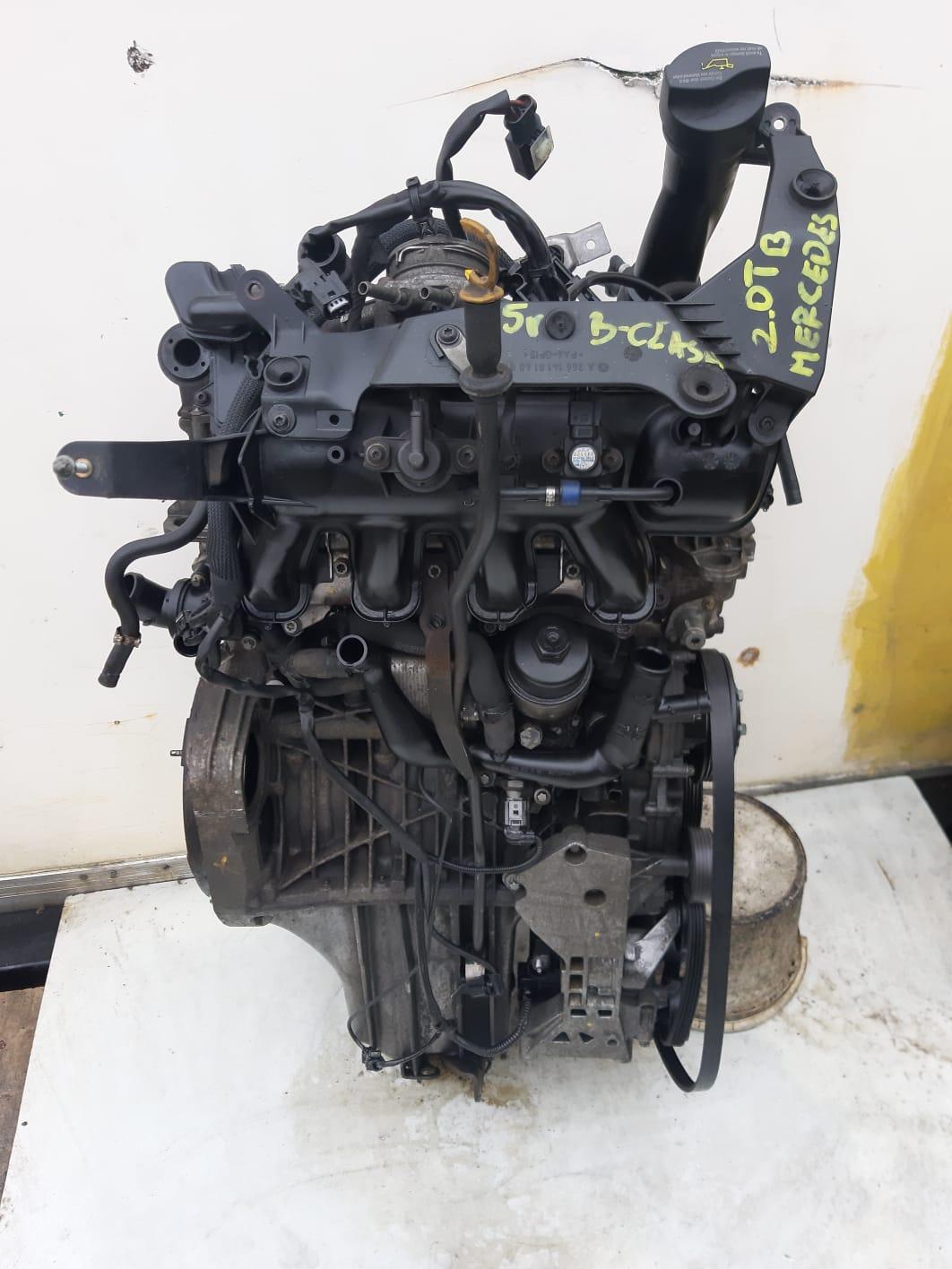 Silnik Mercedes 2.0 TB 266980
