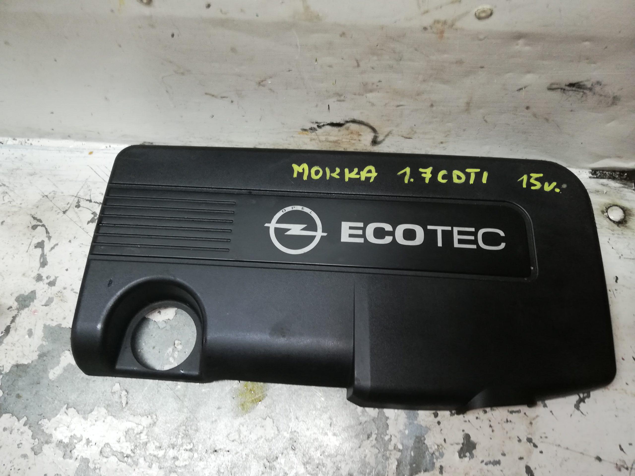 Pokrywa silnika Opel Mokka 1.7 CDTI 55573266