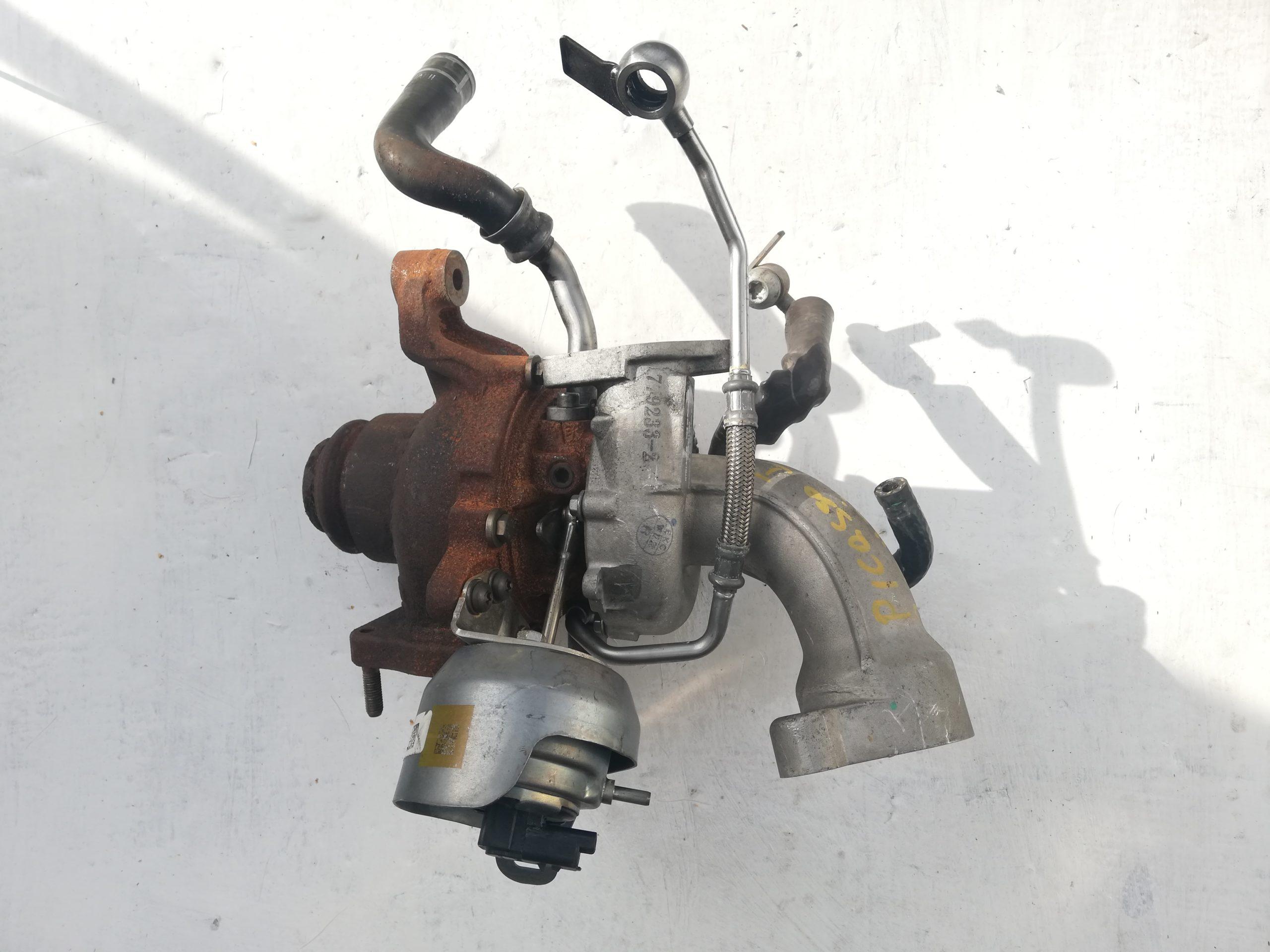 Turbosprężarka Renault 2.2 DCI 138 KM 727271