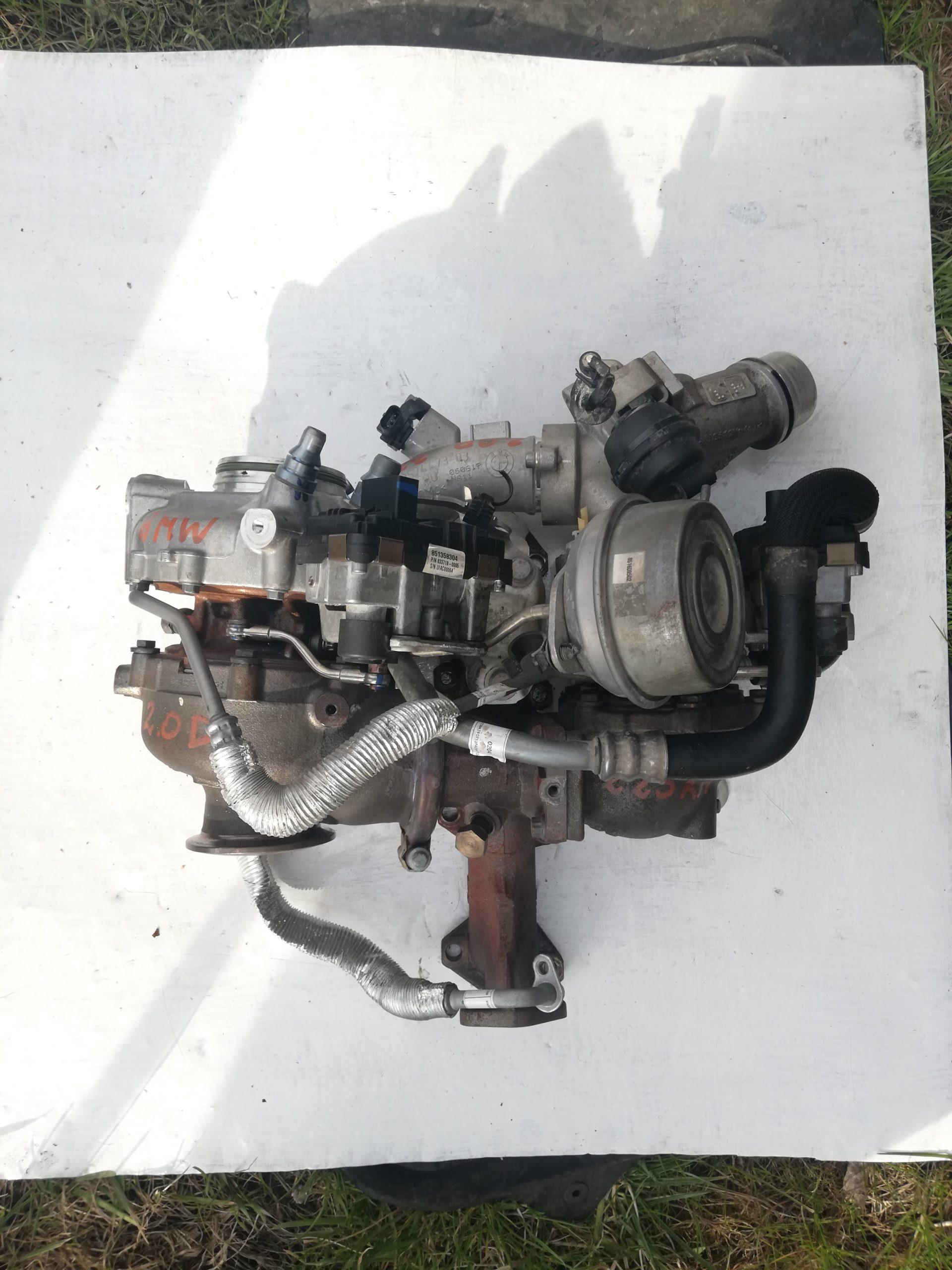 Turbosprężarka BMW 2.0 D 833718