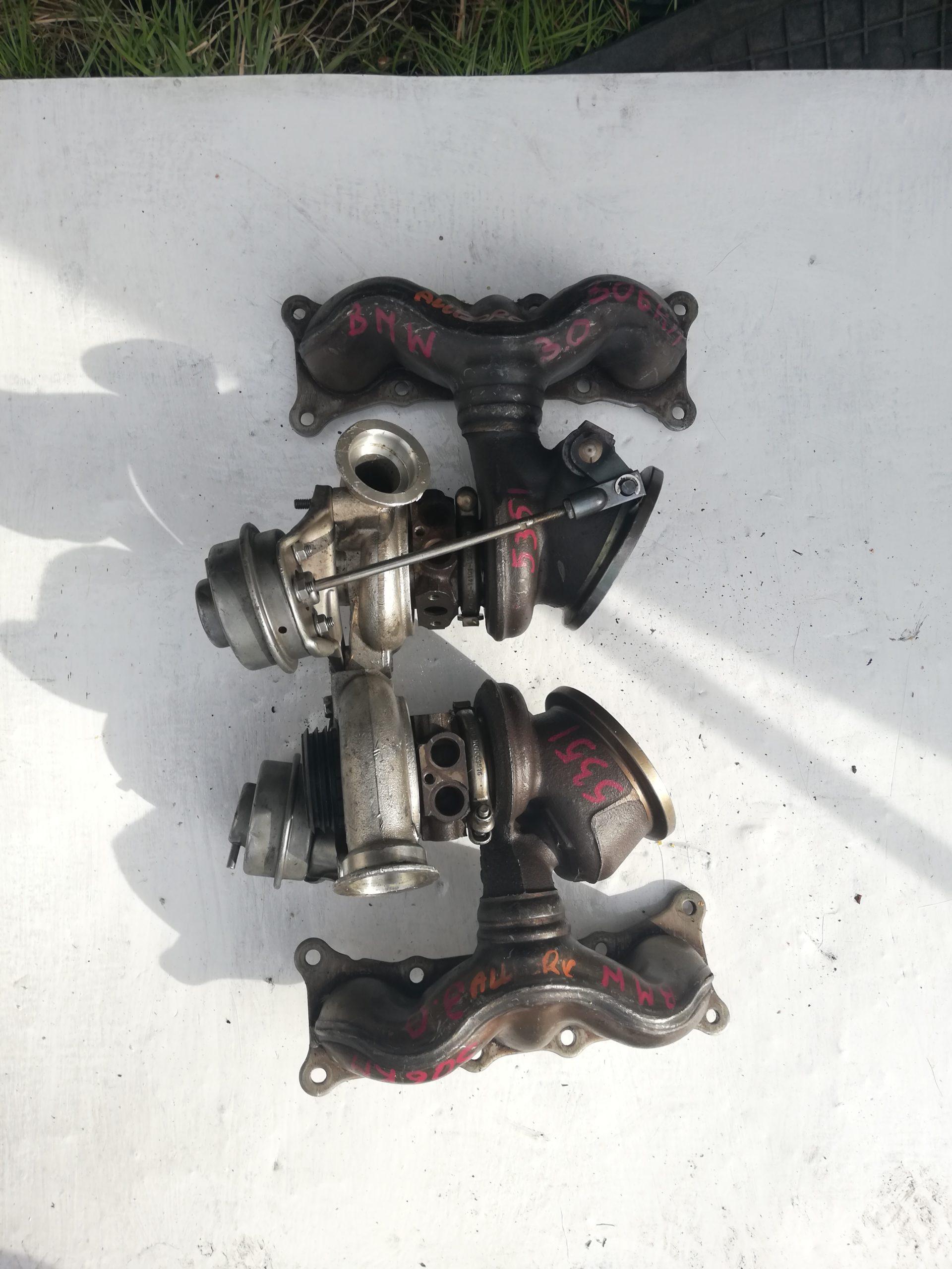 Turbosprężarka BMW 3.0 D 49131-07228  49131-07008