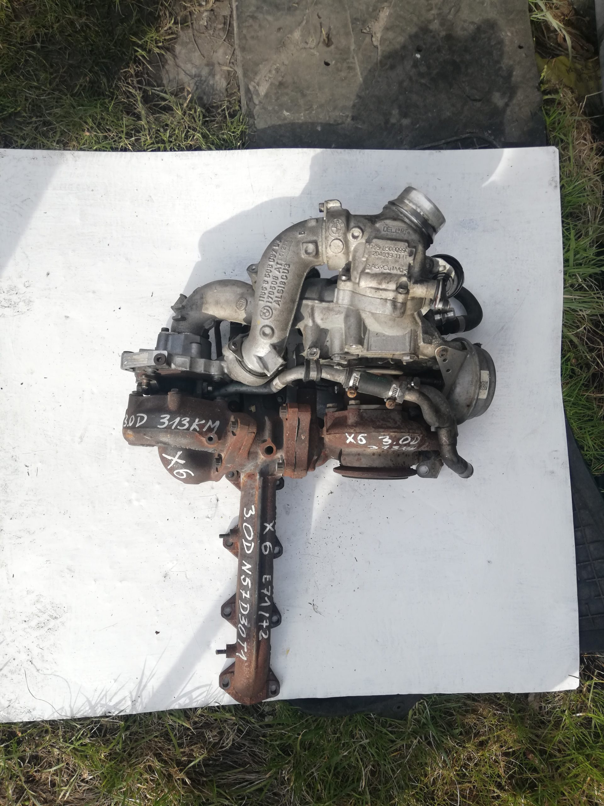 Turbosprężarka BMW 3.0 D 53269700010