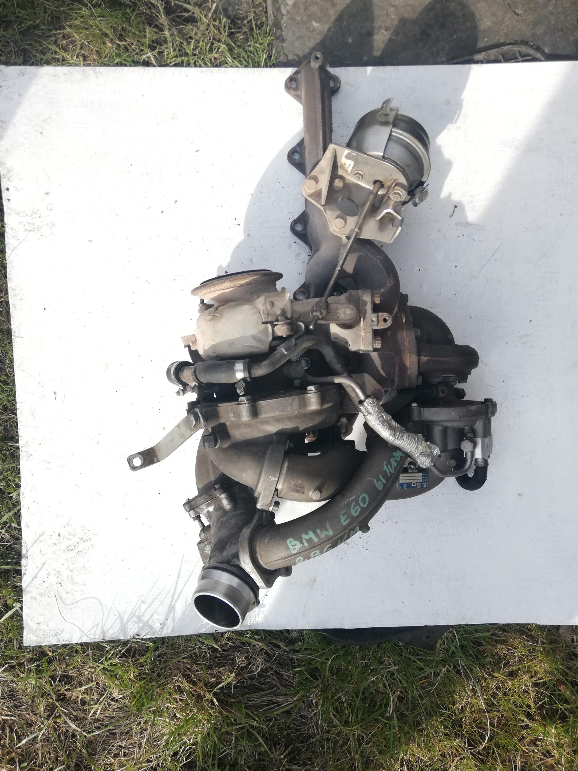 Turbosprężarka BMW 3.0 D 54359700065
