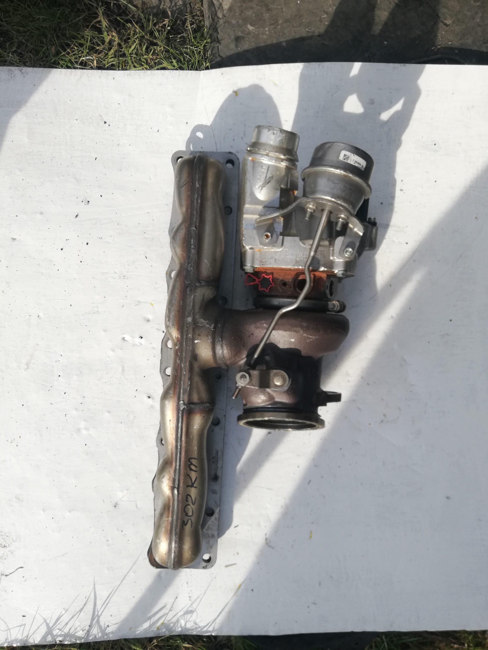 Turbosprężarka VW 3.0 TDI 059145874L