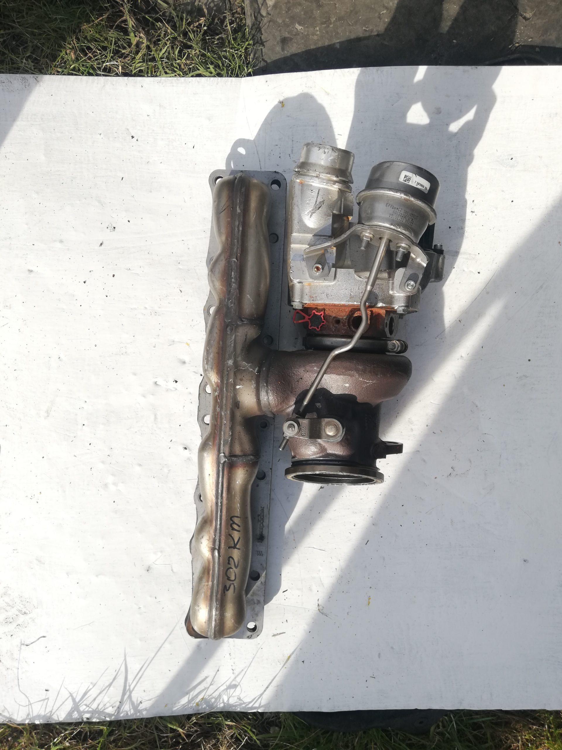 Turbosprężarka BMW 3.0 D 18539700001
