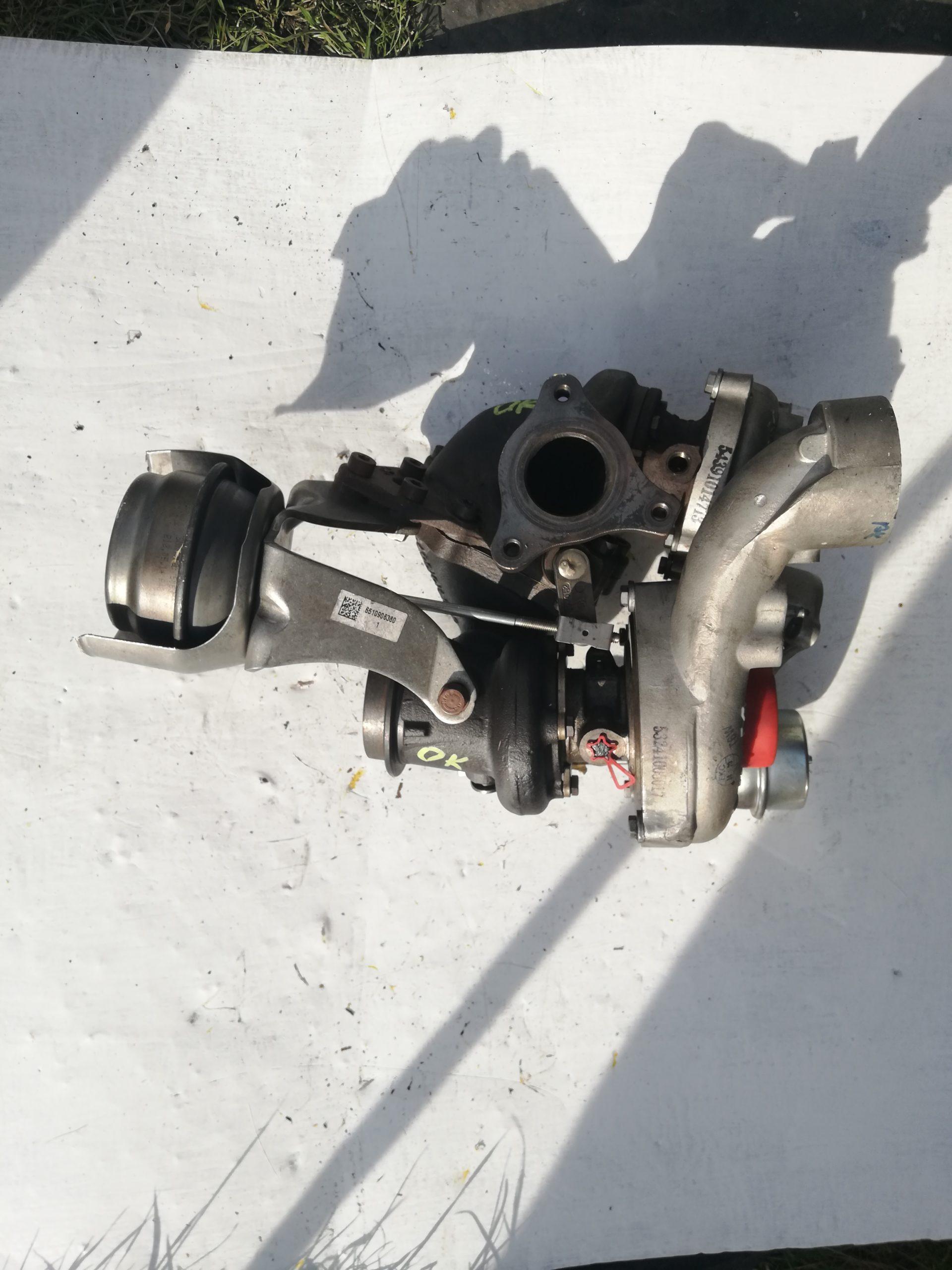 Turbosprężarka Mercedes 2.2 CDI A651 54399700075