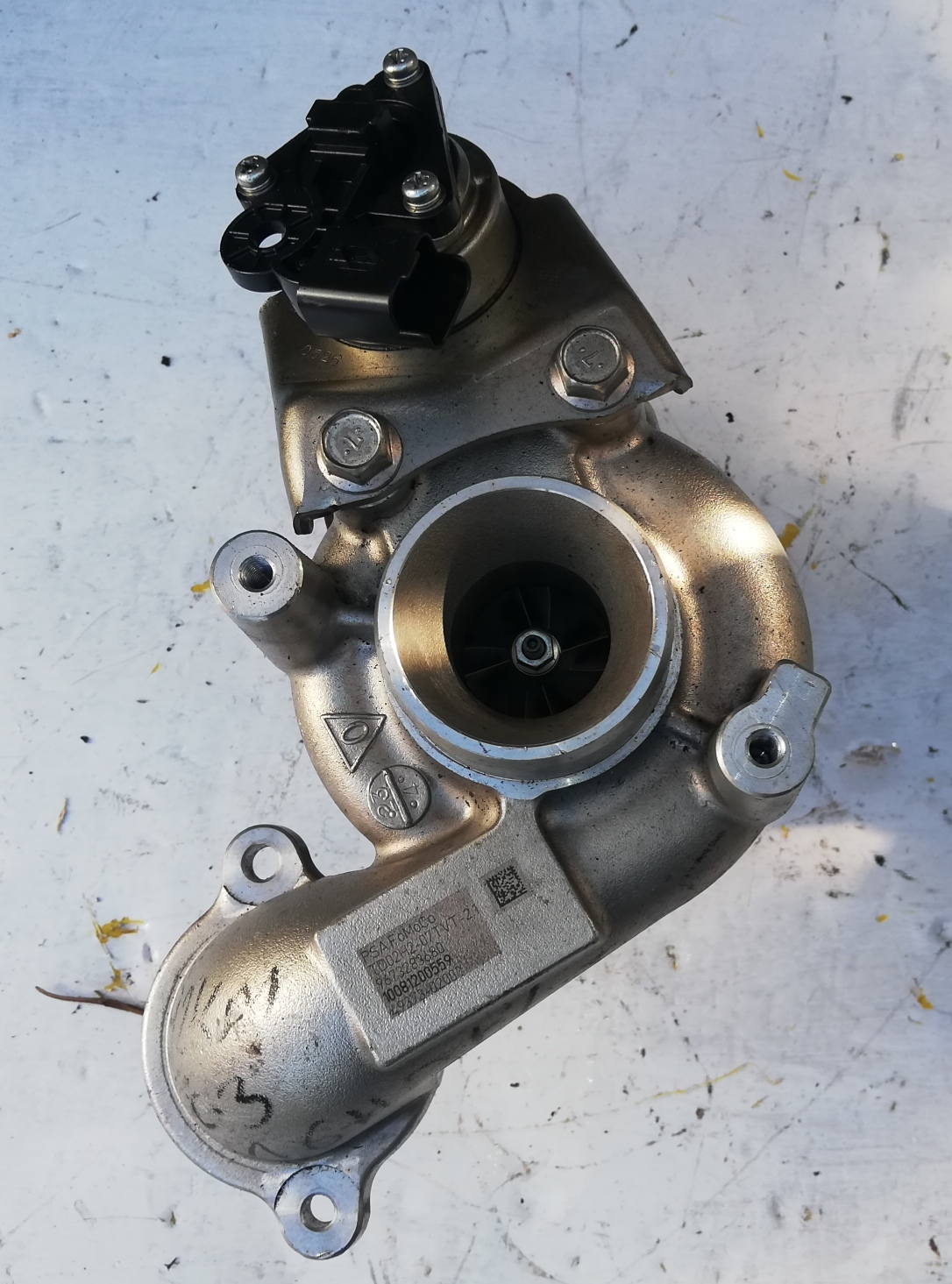 Turbosprężarka Renault 1.2 TCE 49373-02009