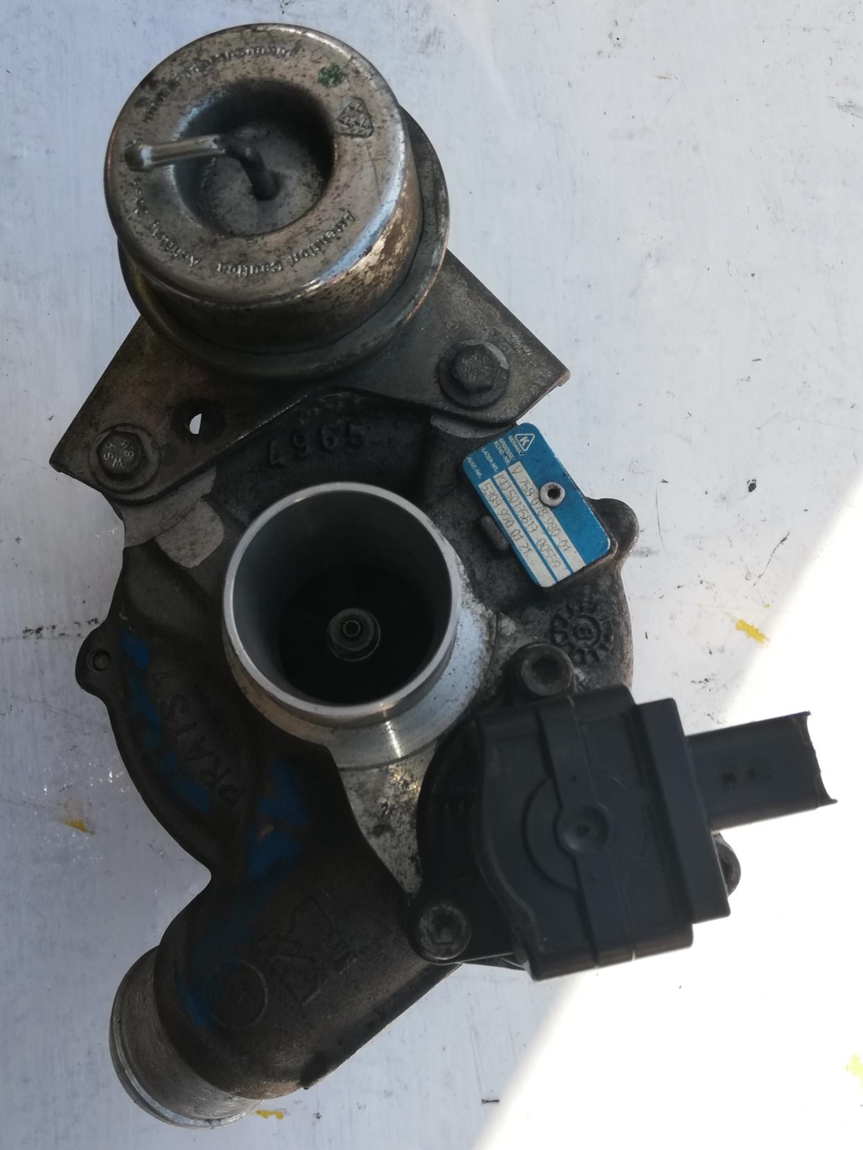 Turbosprężarka Peugeot 1.6 THP 53039700121
