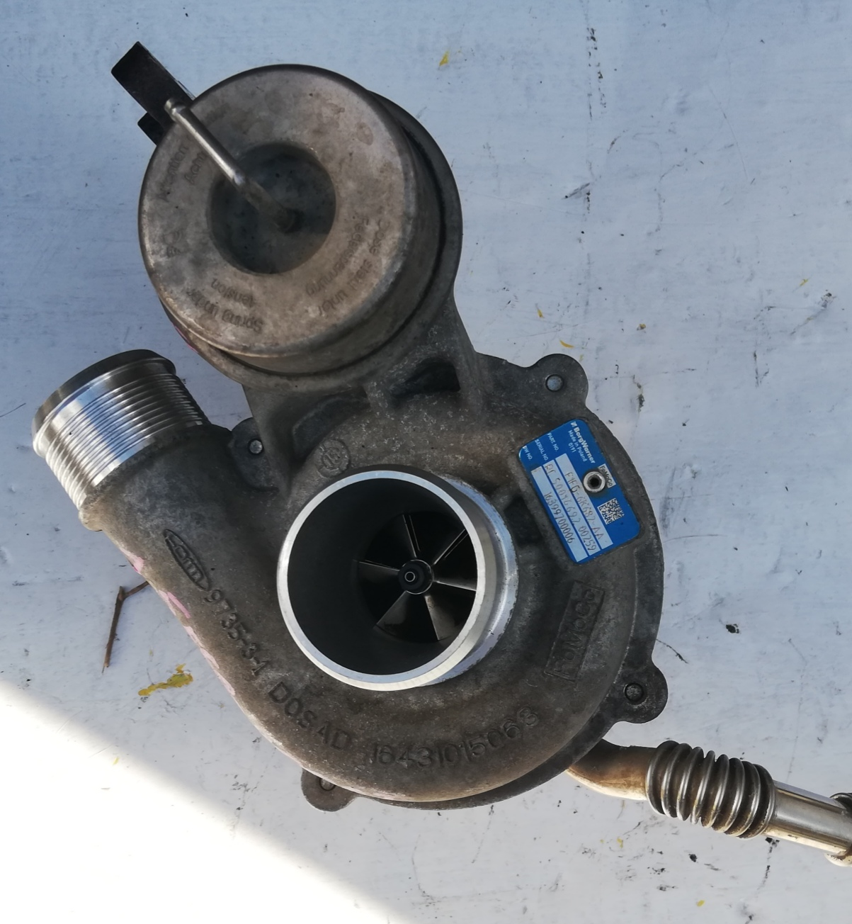 Turbosprężarka Ford Mondeo 1.5 D 16399700006