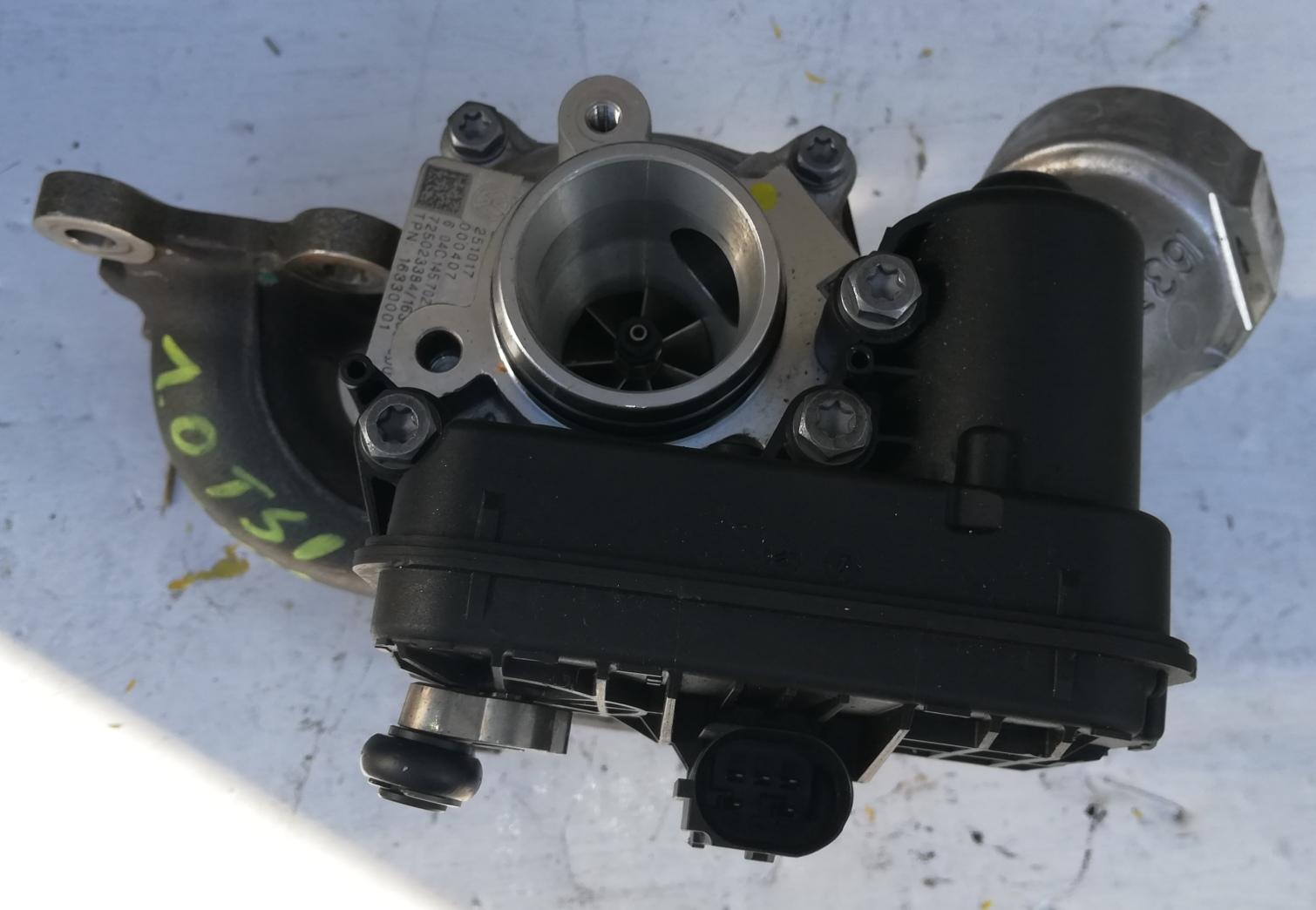 Turbosprężarka Volkswagen Audi 04C145702R