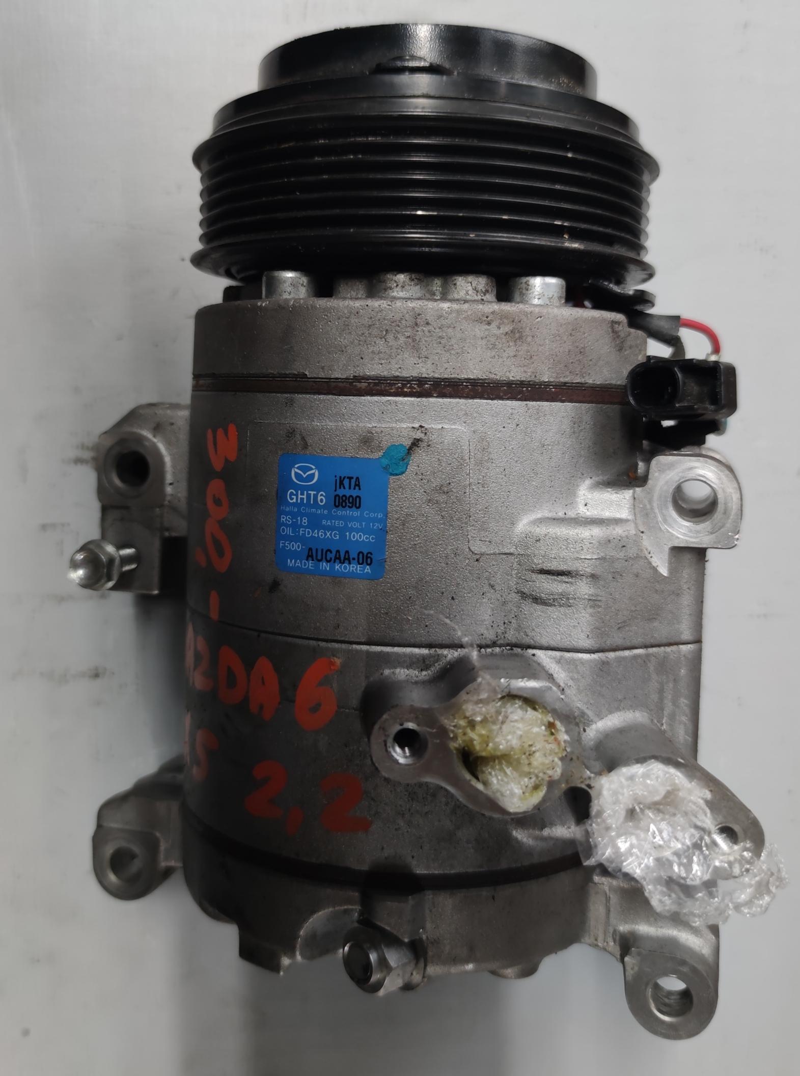 Sprężarka Kilmatyzacji Mada 6 2.2 D F500-AVCAA-06