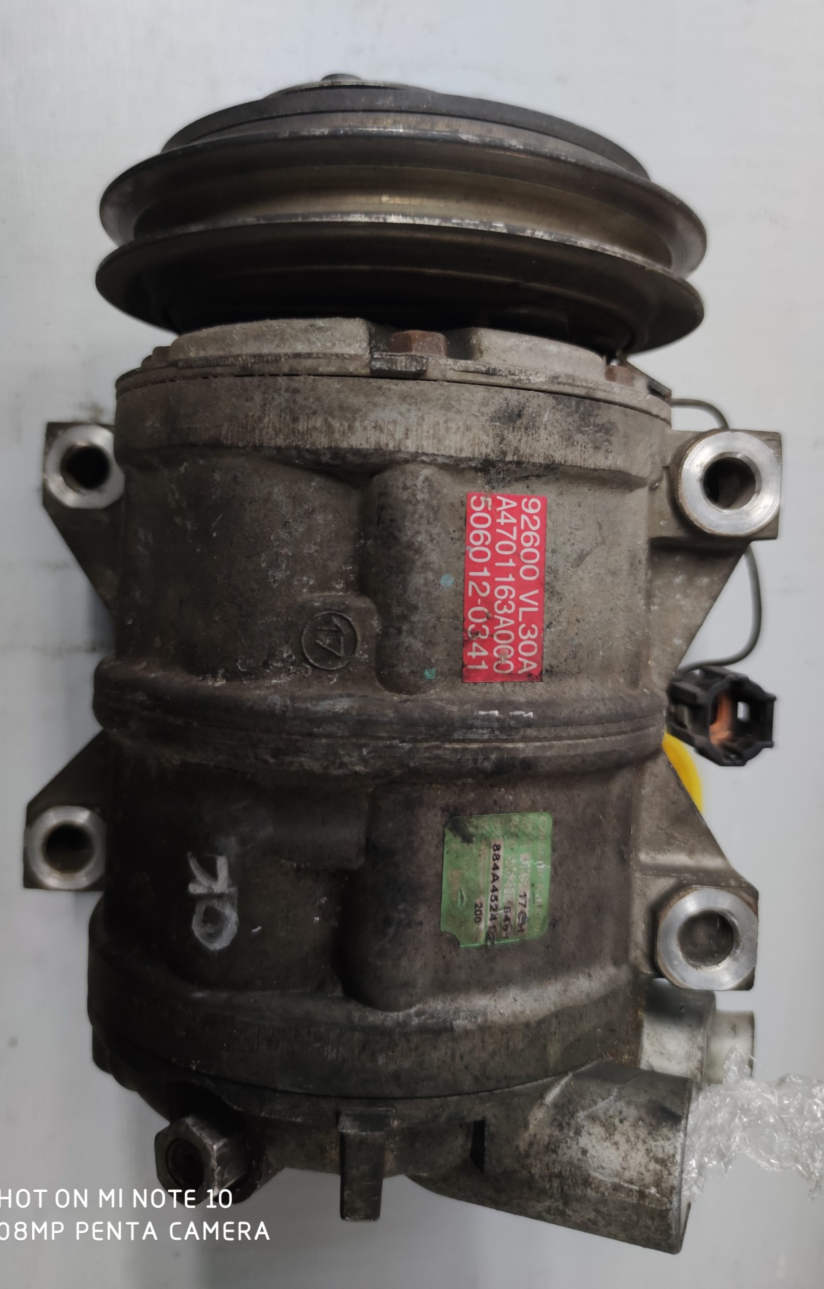 Sprężarka Klimatyzacji Nissan 2.5 DKS17CH 506012-0341
