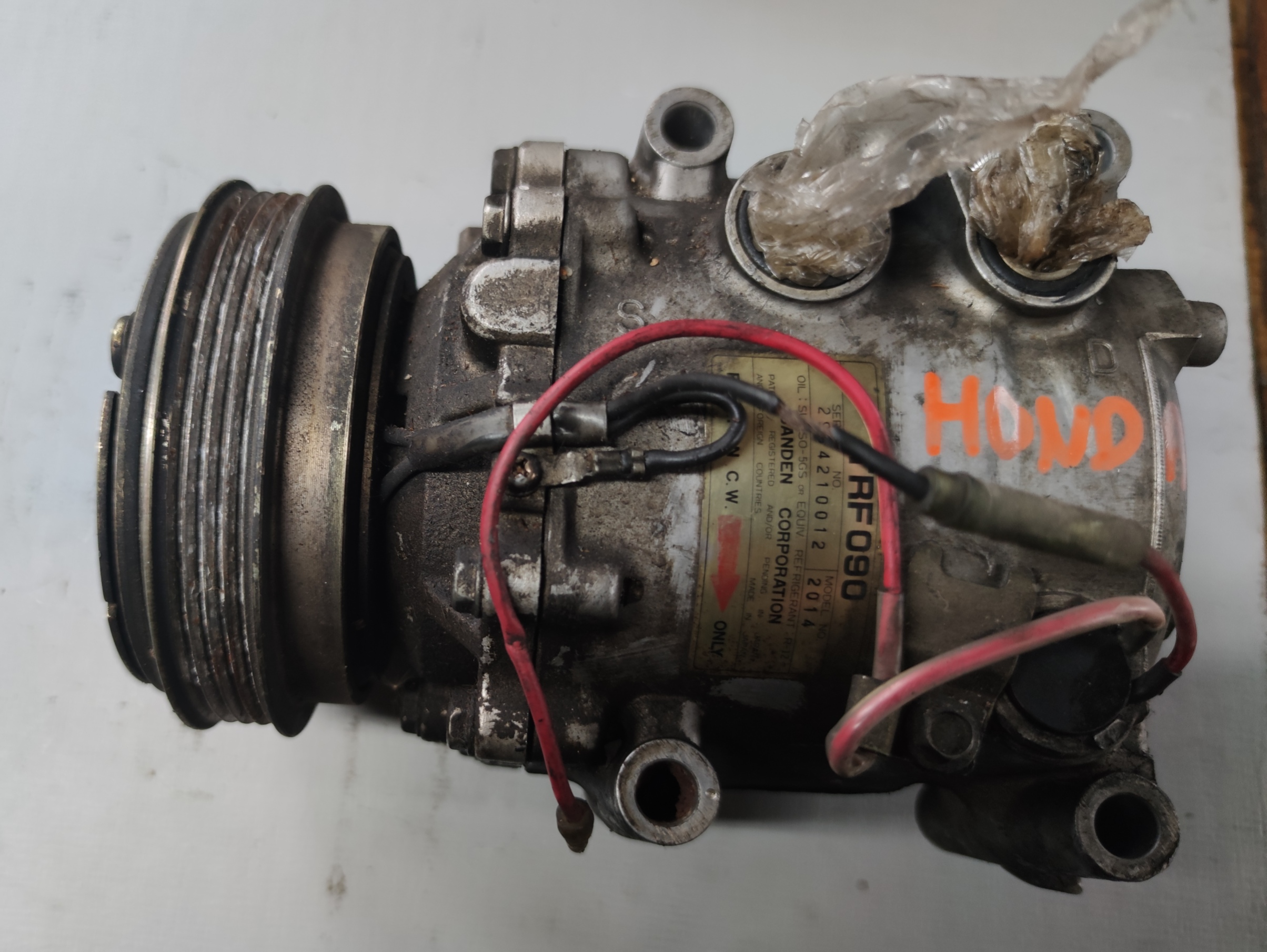 Sprężarka Klimatyzacji HONDA TRF090