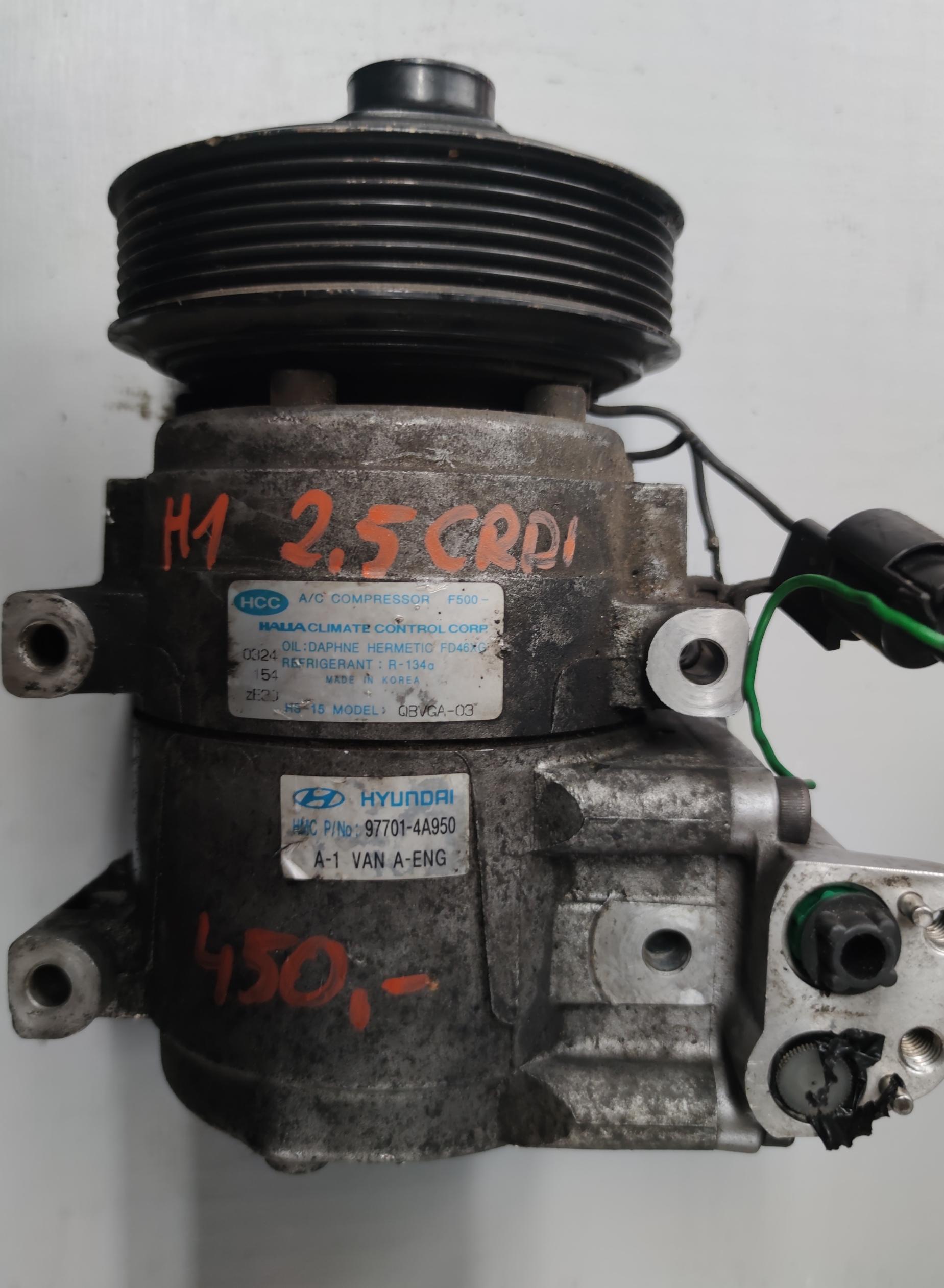 Sprężarka Kilmatyzacji Hyundai Kia2.5 CRDI 97701-4A950