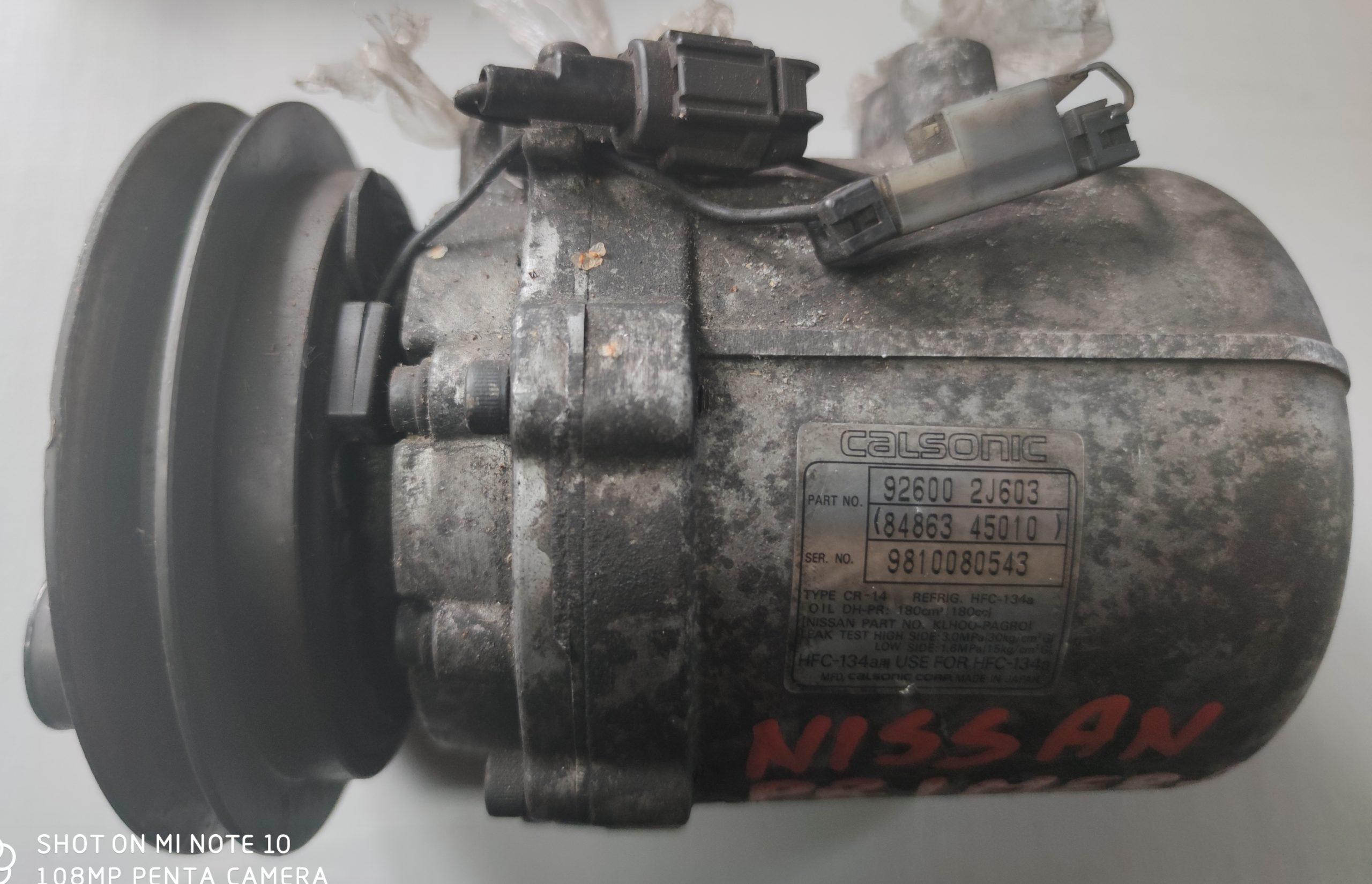 Sprężarka Klimatyzacji Nissan 92600-2J603