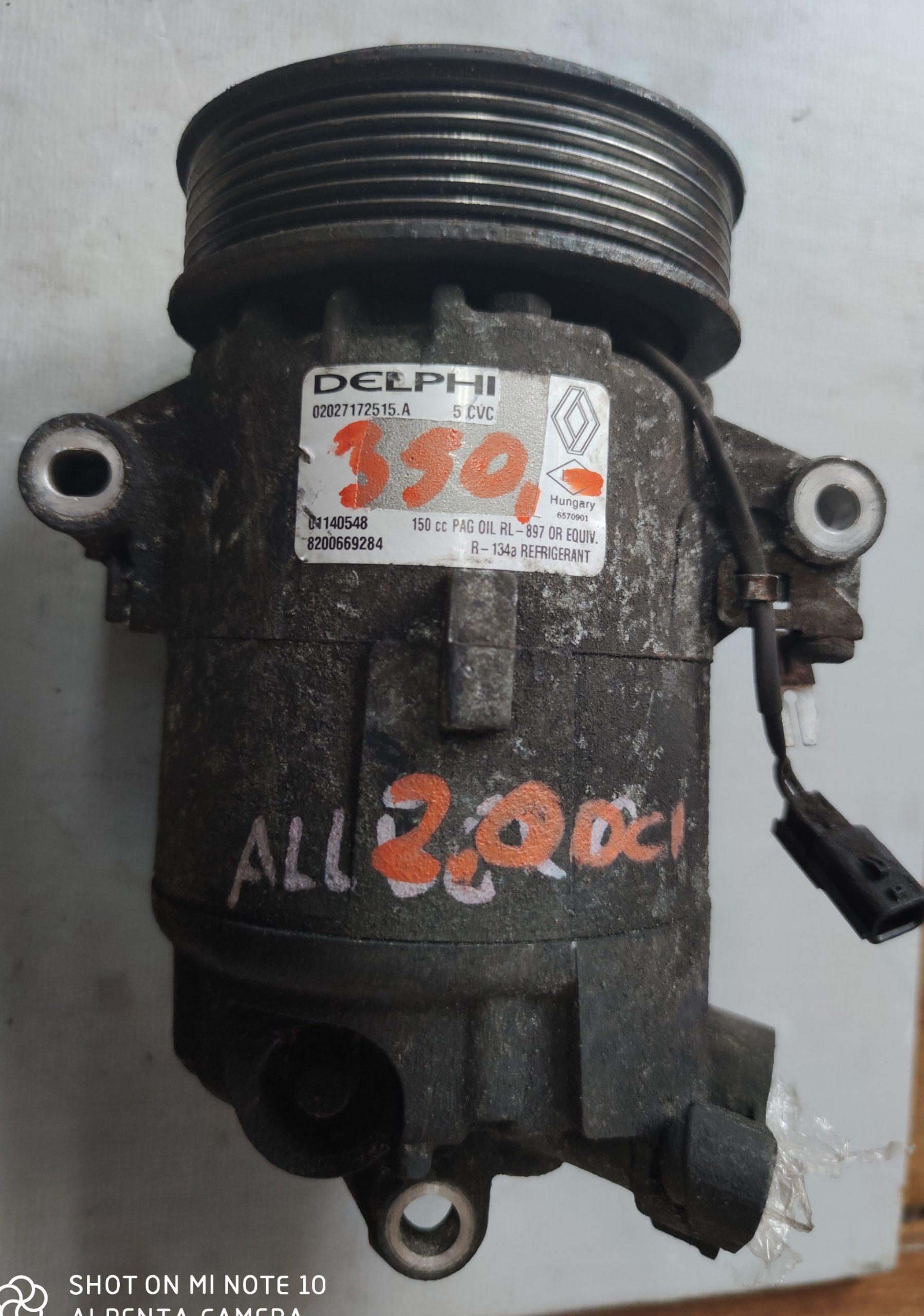 Sprężarka Klimatyzacji Renault 2.0 dci 8200669284
