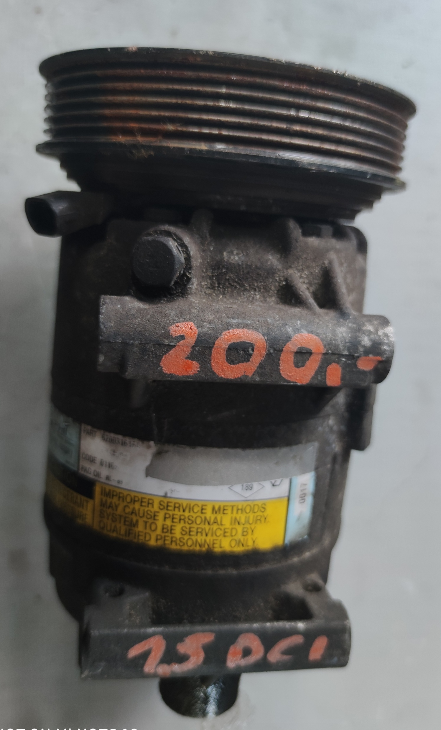 Sprężarka Klimatyzacji Renault 1.5 dci 82000316164