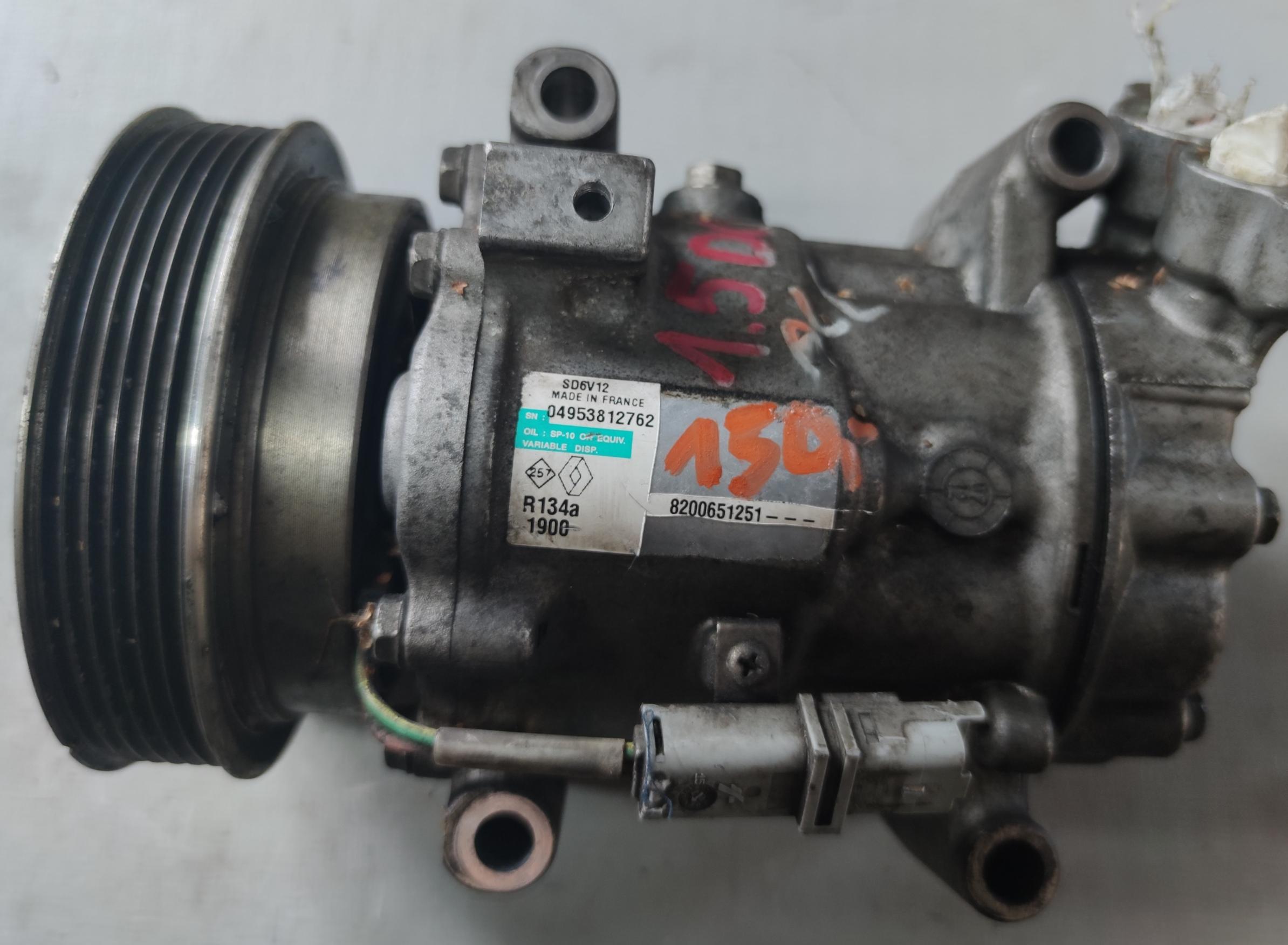 Sprężarka Klimatyzacji Renault 1.5 dci 8200651251