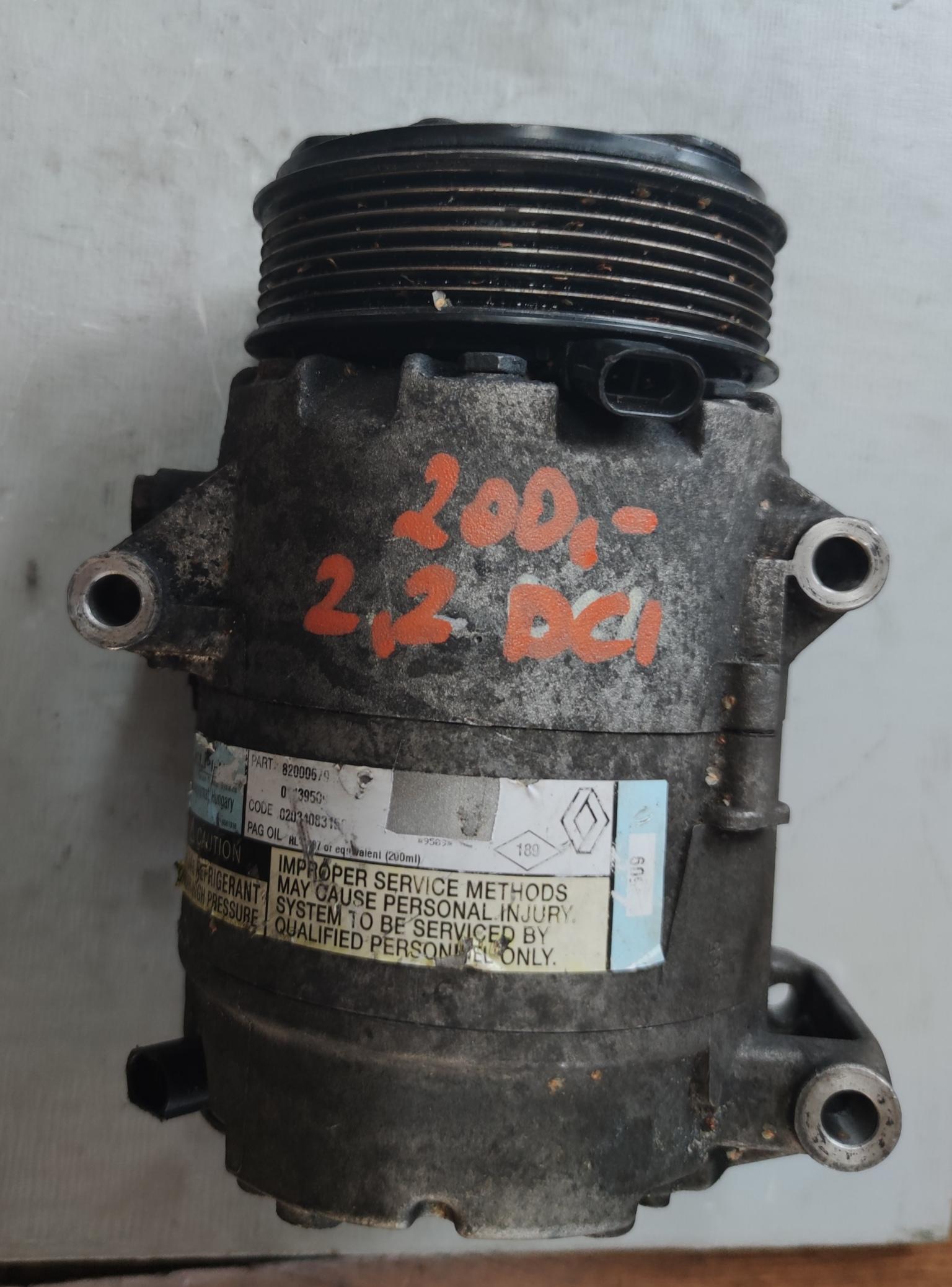 Sprężarka Klimatyzacji Renault 2.2 dci 8200067915
