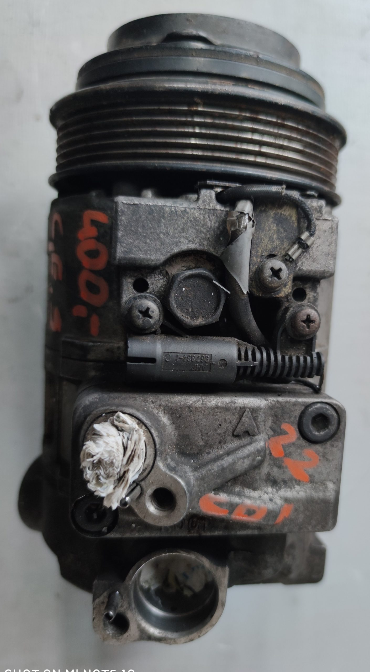 Sprężarka Klimatyzacji Mercedes 2.2 CDI 447100-6826