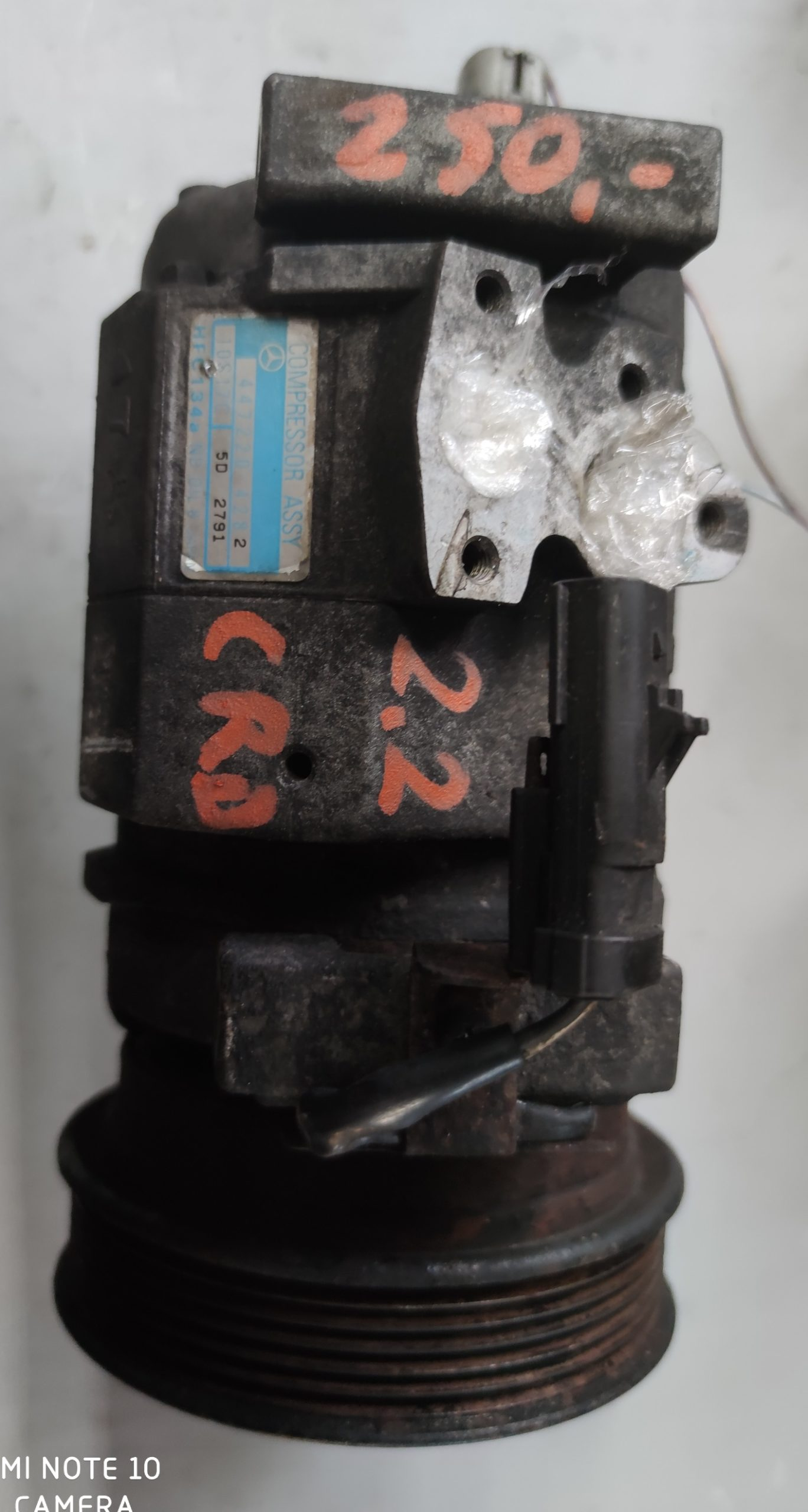 Sprężarka klimatyzacji Jeep 2.2 CRD 447220-4282