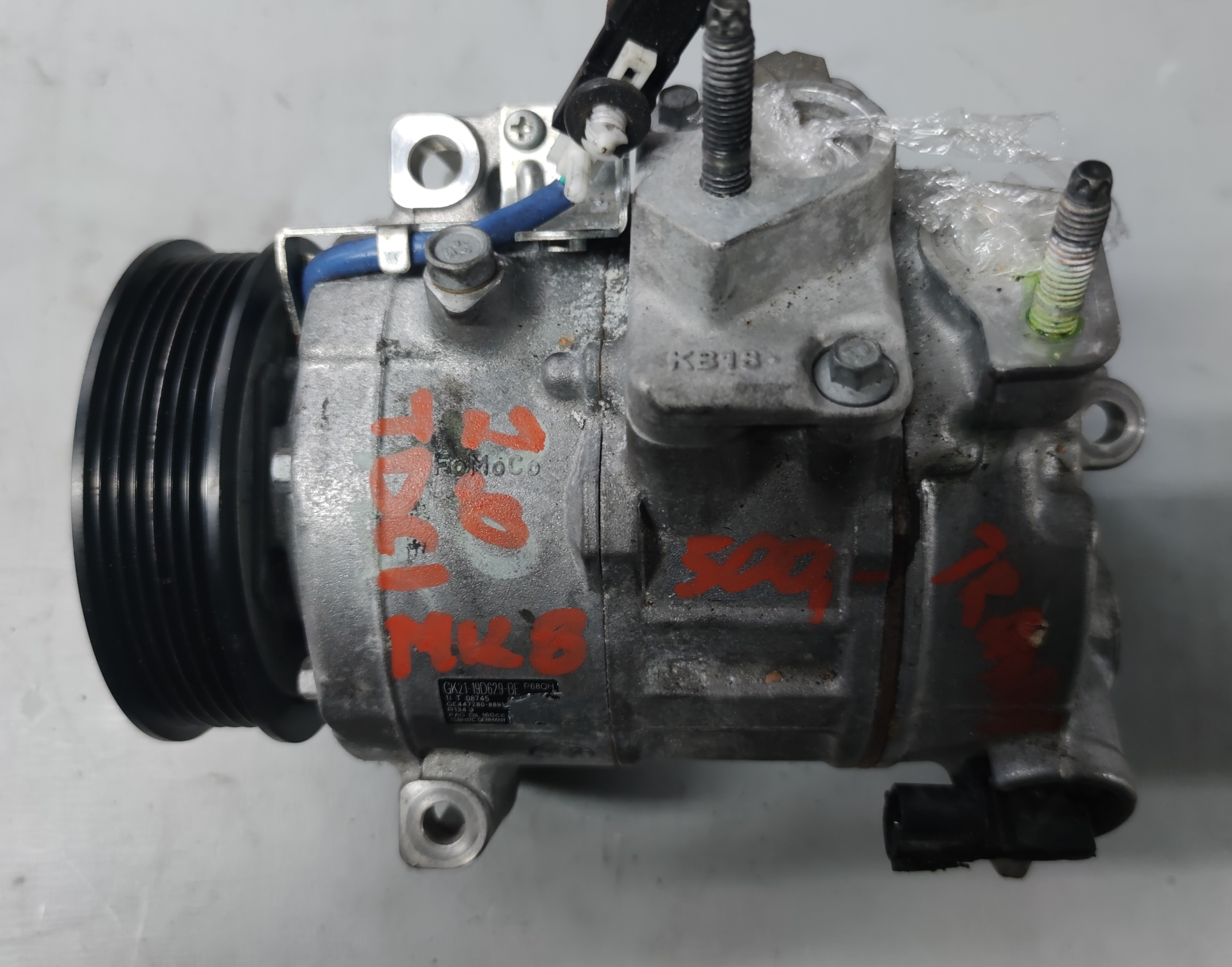 Sprężarka Klimatyzacji Ford 2.0 TDCI gk21-19d629-be