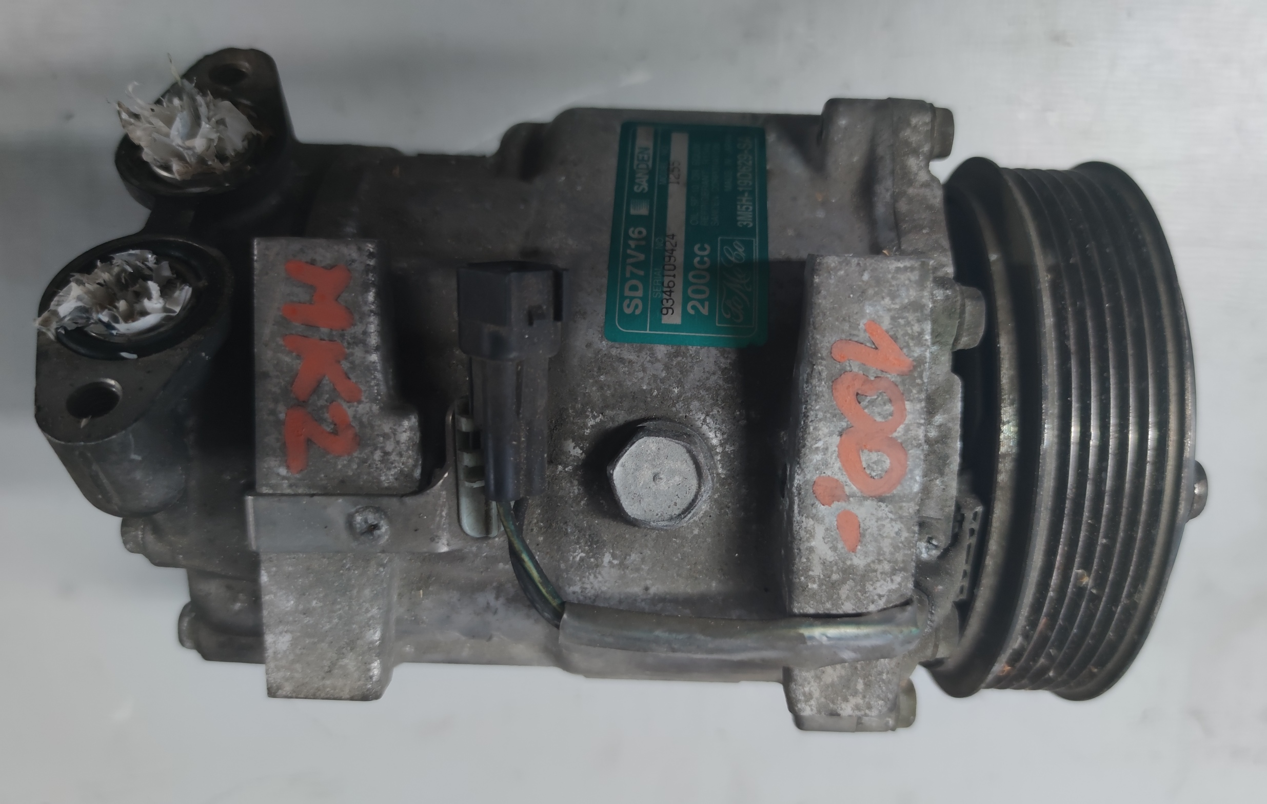 Sprężarka Klimatyzacji Ford 1.6 TDCI 3M5H-19D629-SA