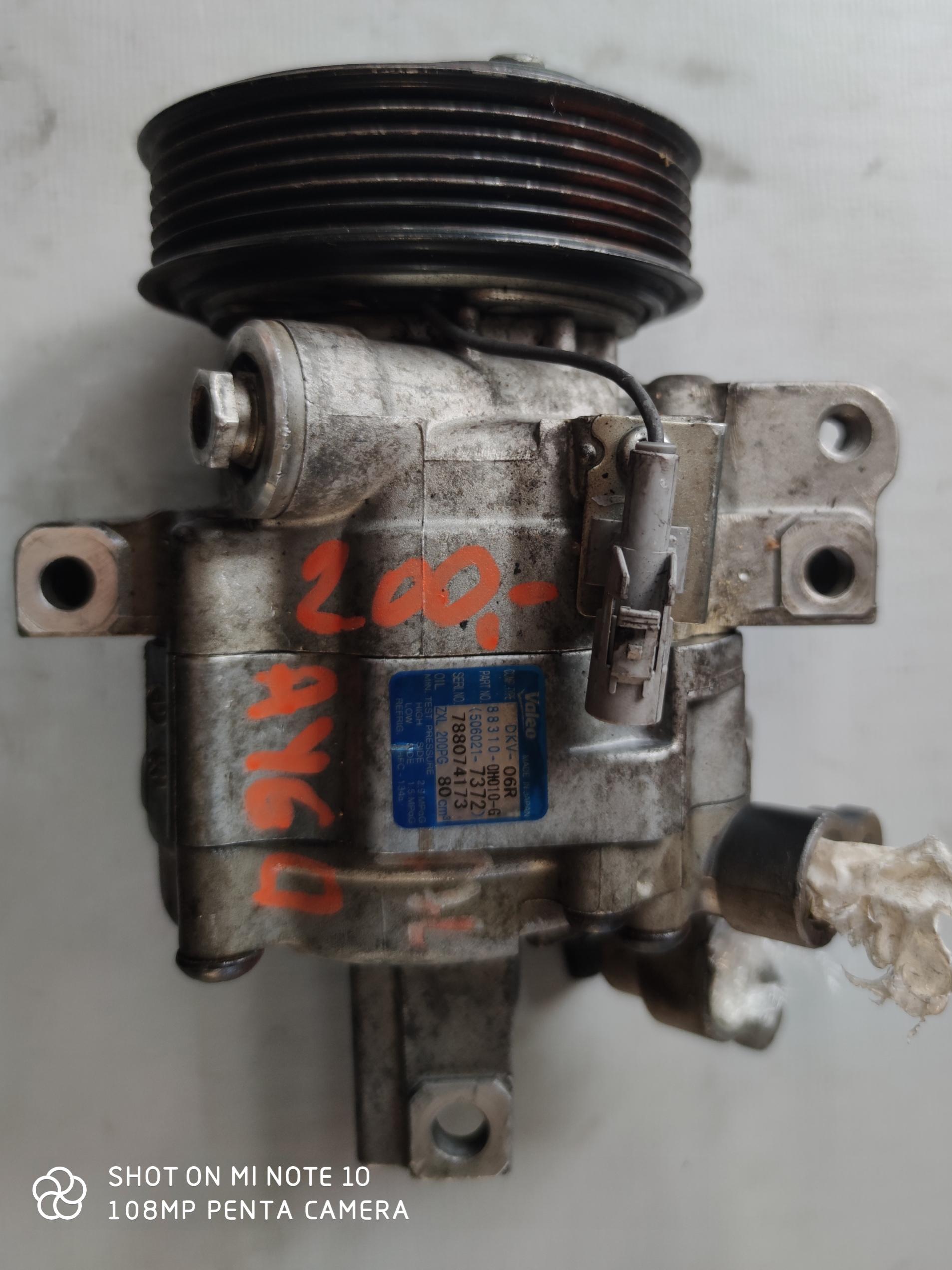 Sprężarka Klimatyzacji Toyota Aygo 506021-7372
