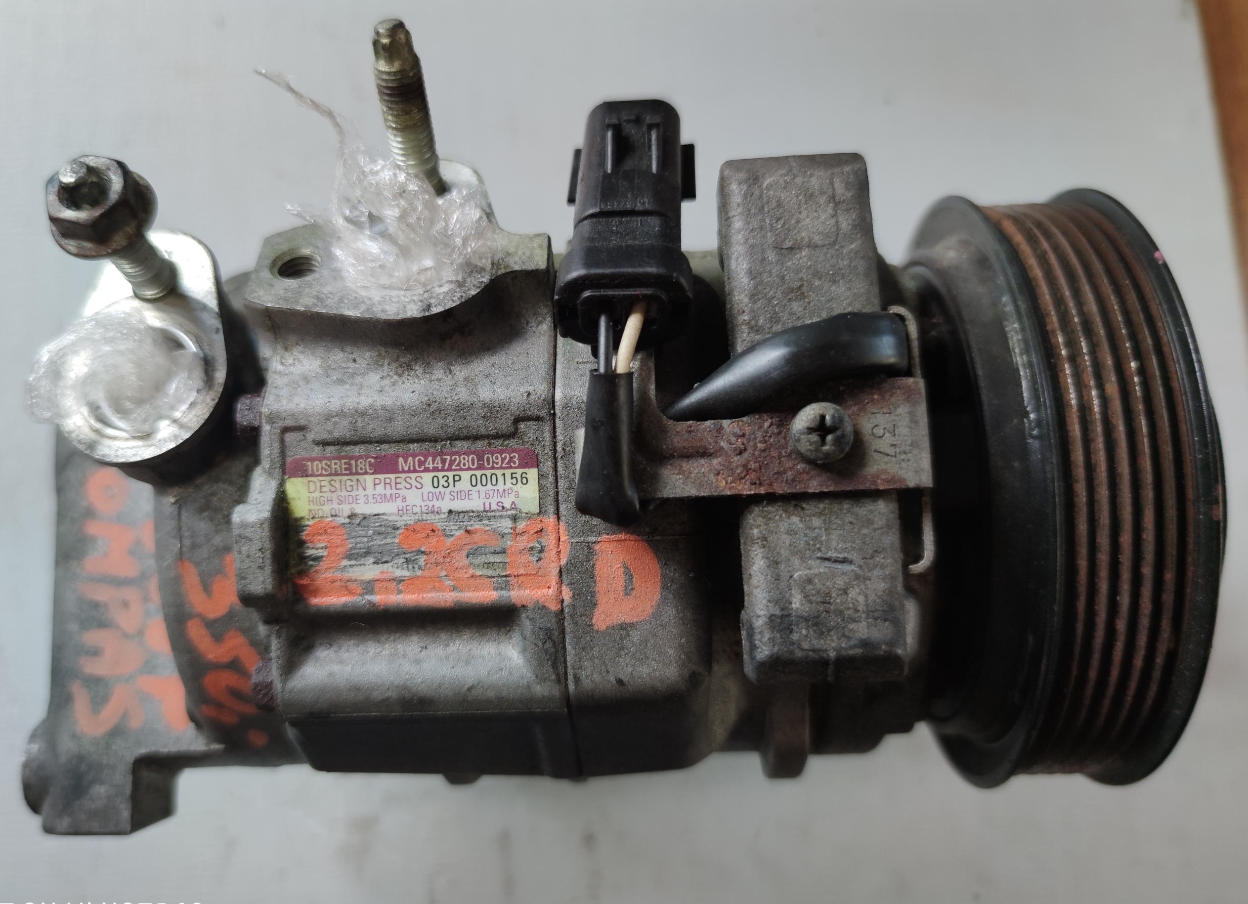 Sprężarka klimatyzacji Jeep 2.2 CRD 447280-0923