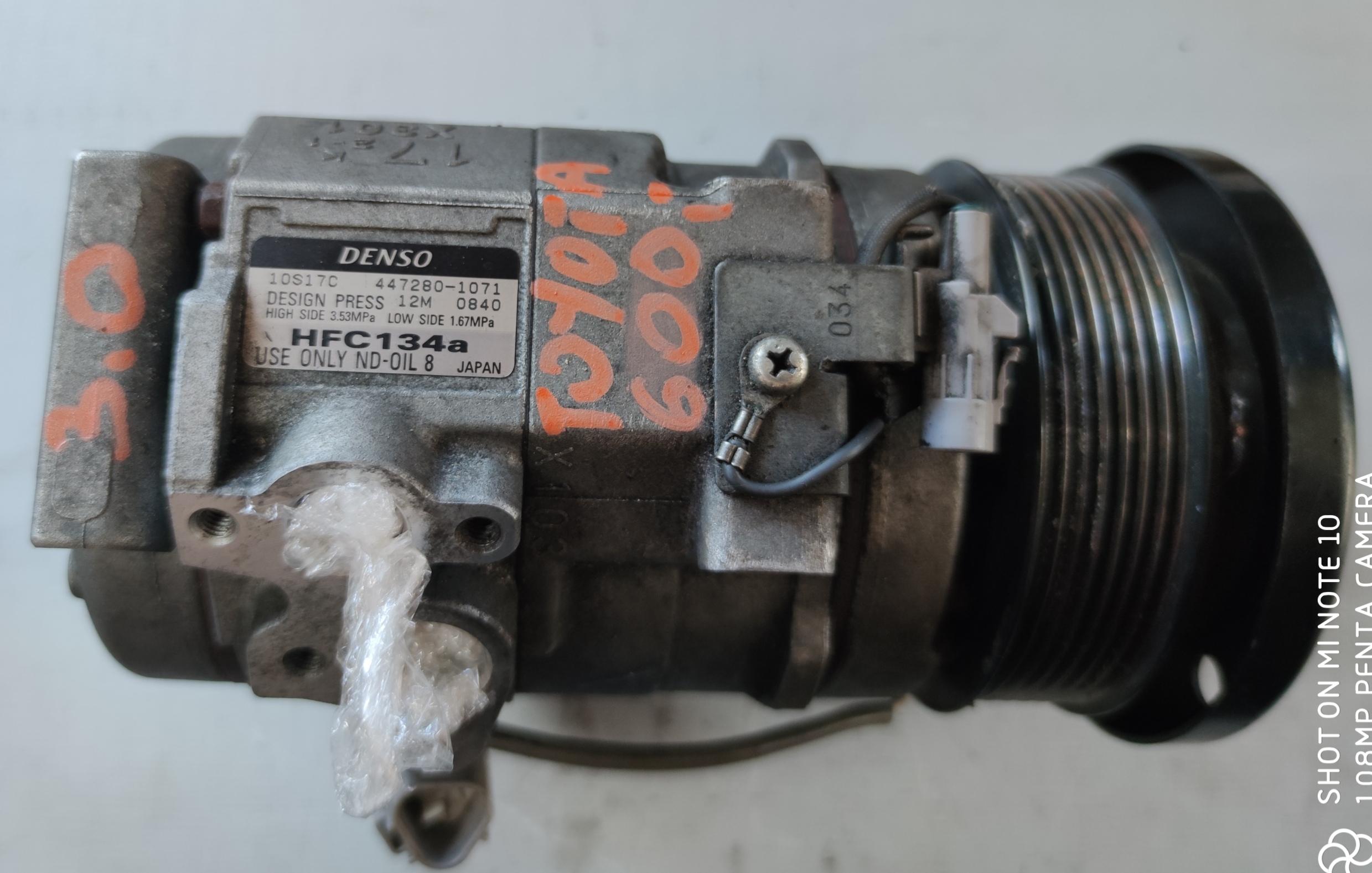 Sprężarka Klimatyzacji Toyota 3.0 447280-1071