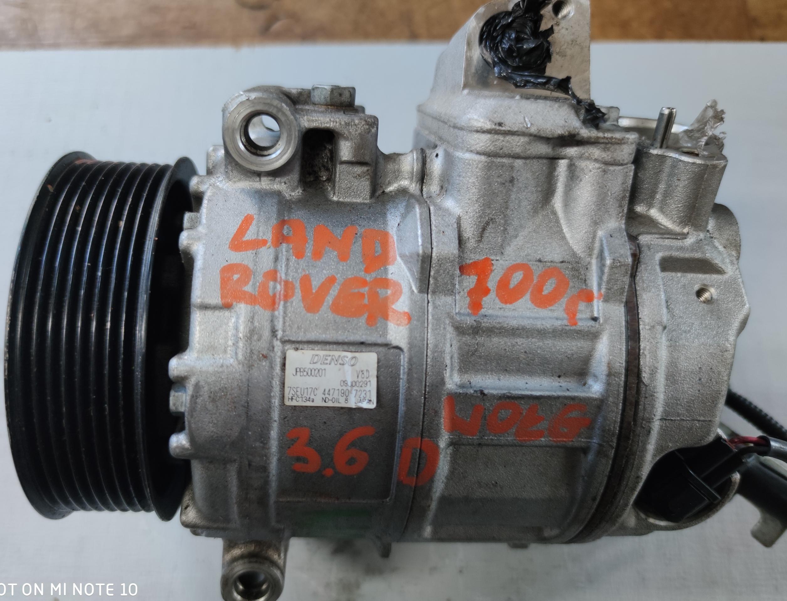 Sprężarka Klimatyzacji Land Rover 3.6 D 447190-7231