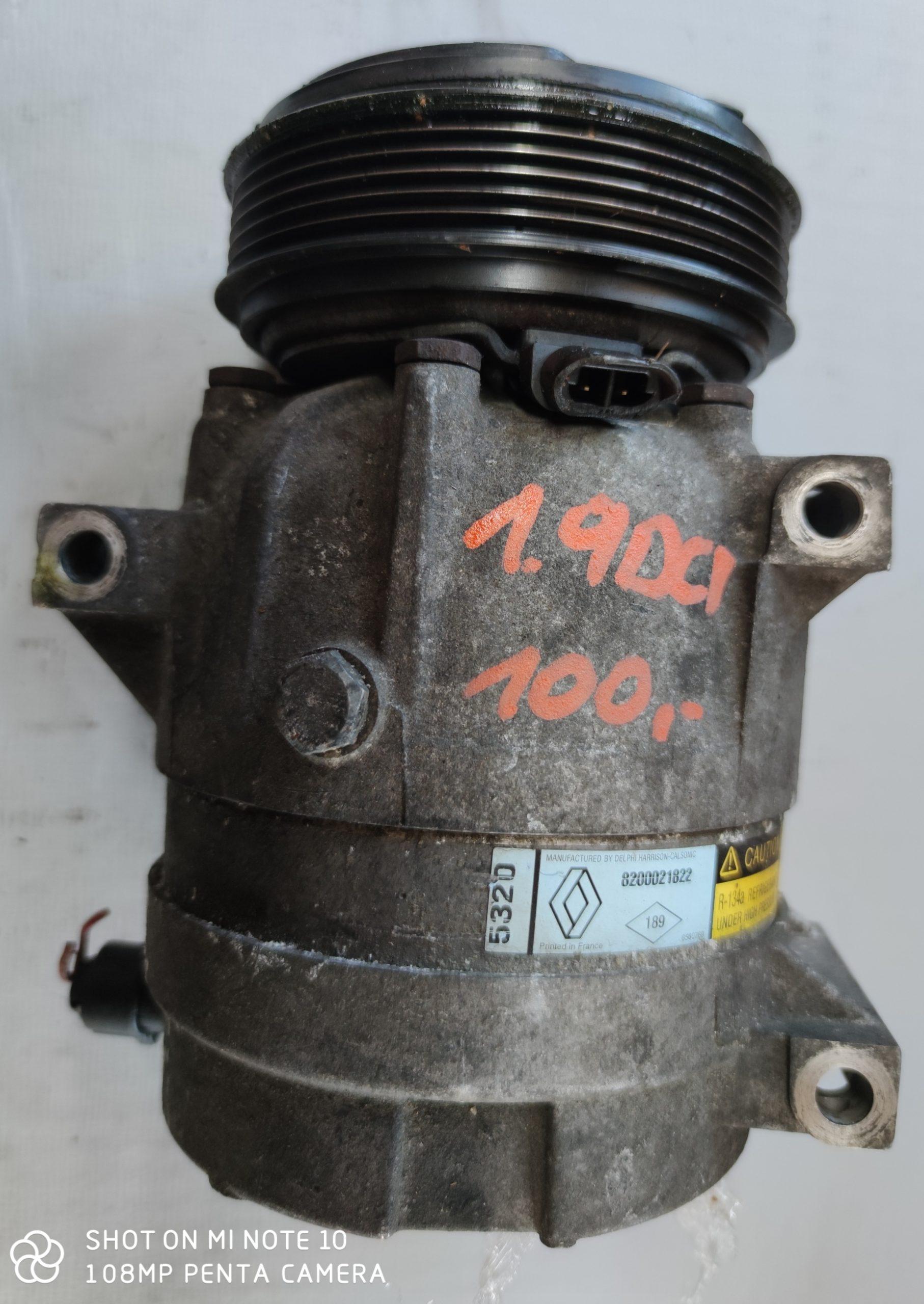 Sprężarka Klimatyzacji Renault 1.9 dci 8200021822