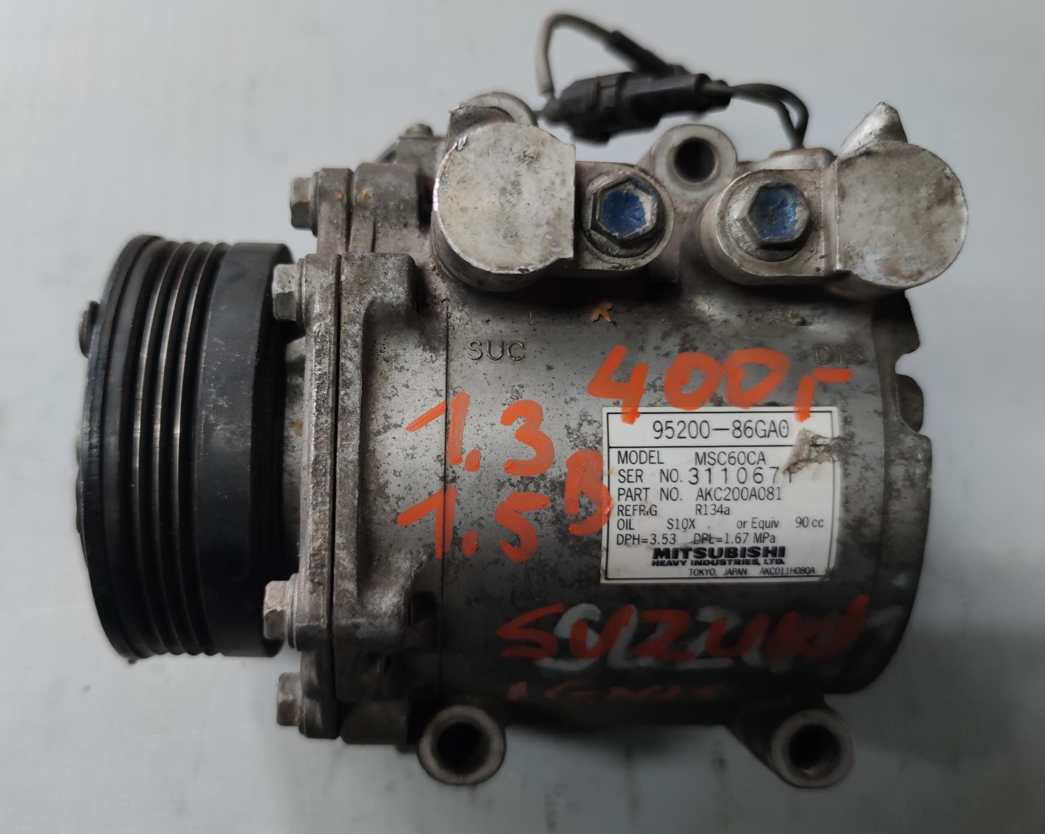 Sprężarka Klimatyzacji Suzuki 1.3B 95200-86GA0