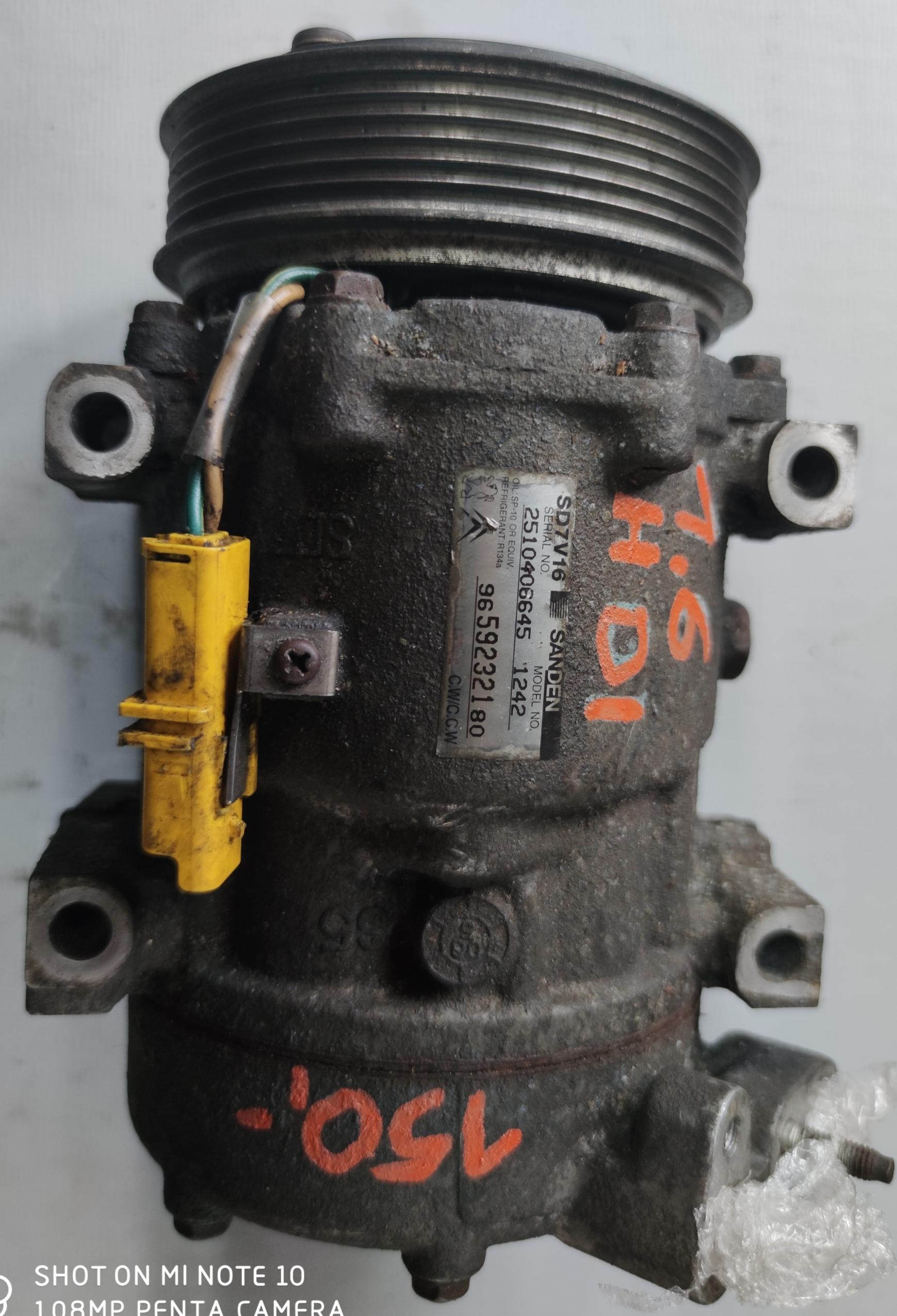 Sprężarka klimatyzacji Peugeot 1.6 HDI 9659232180