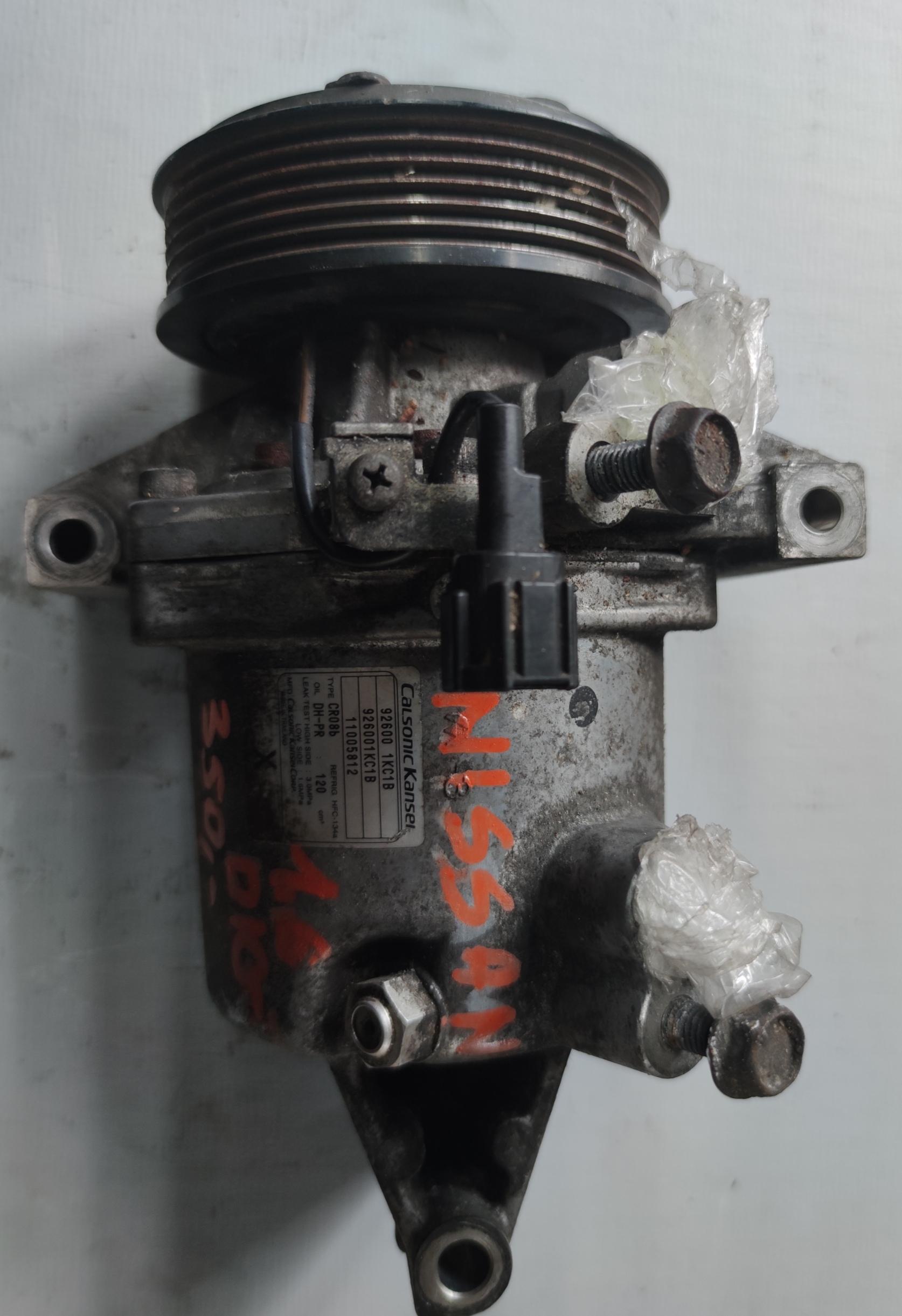 Sprężarka Klimatyzacji Nissan 1.6 92600 1KC1B