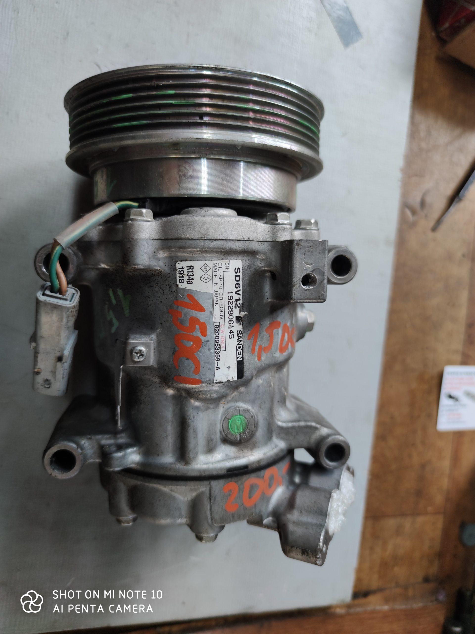 Sprężarka Klimatyzacji RENAULT 1.5 DCI 8200953359A
