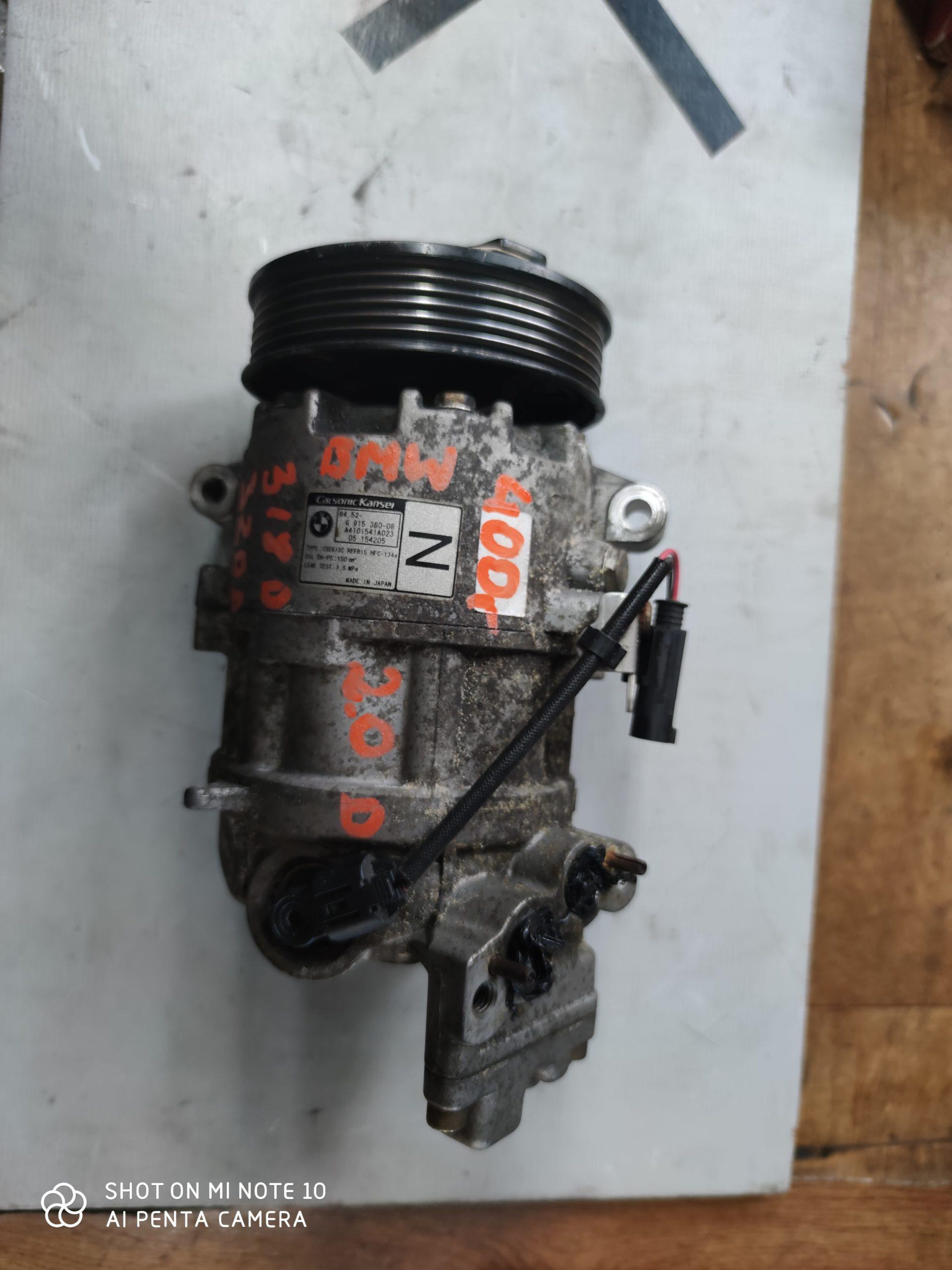 Sprężarka Klimatyzacji BMW 2.0 D64.52-6915380-08