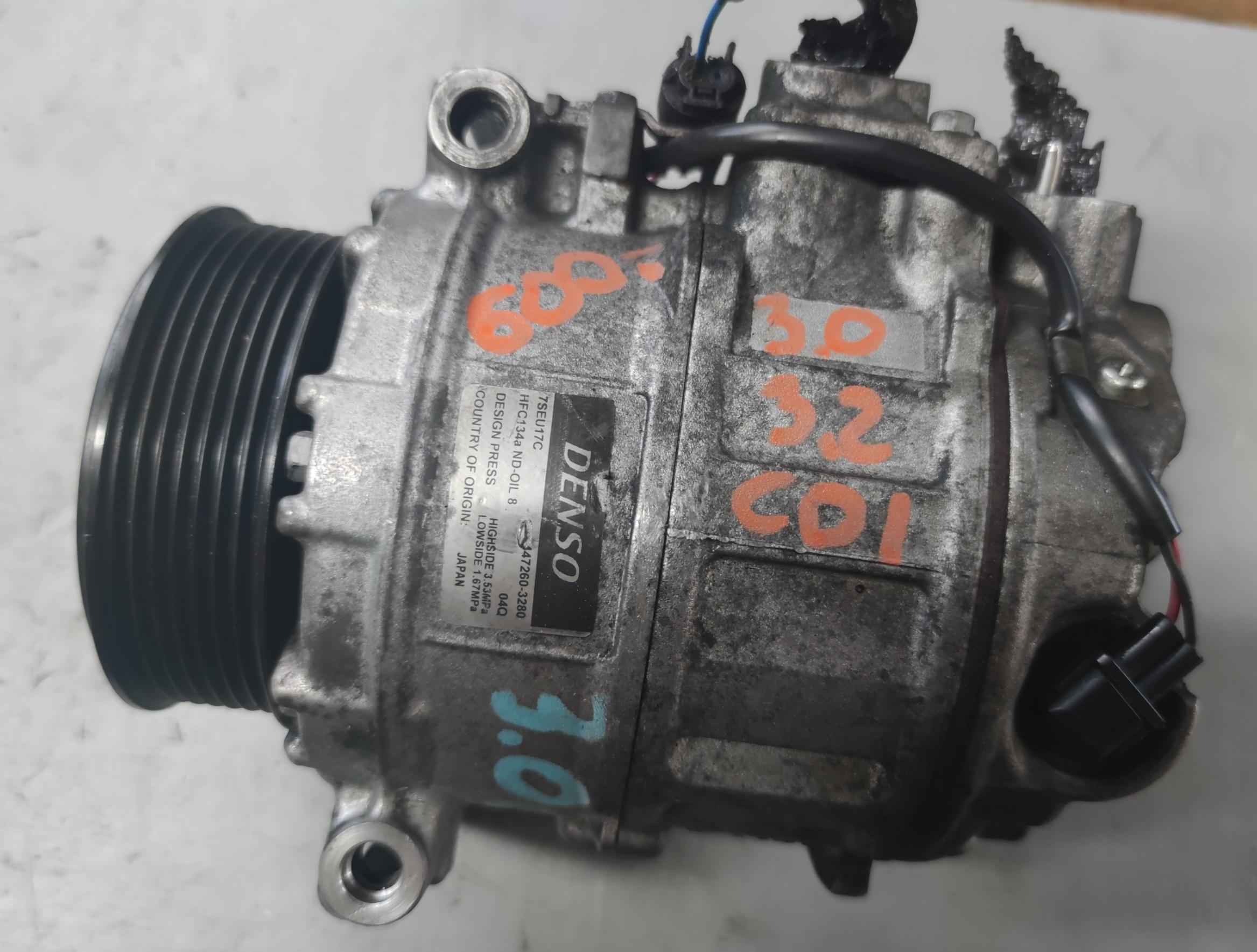 Sprężarka klimatyzacji Mercedes 3.0 / 3.2 CDI 447260-3280