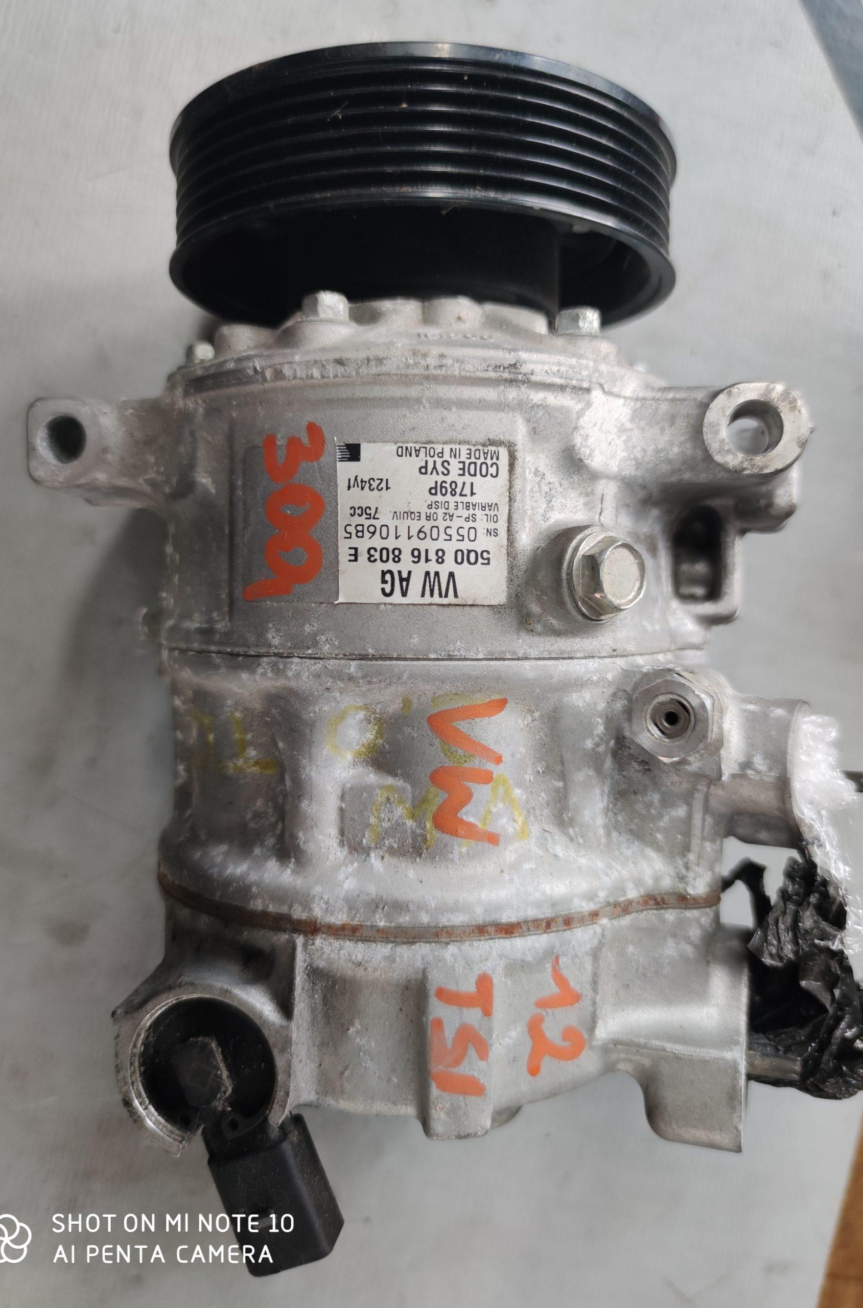 Sprężarka Klimatyzacji VW 1.2 TSI 5Q0816803E