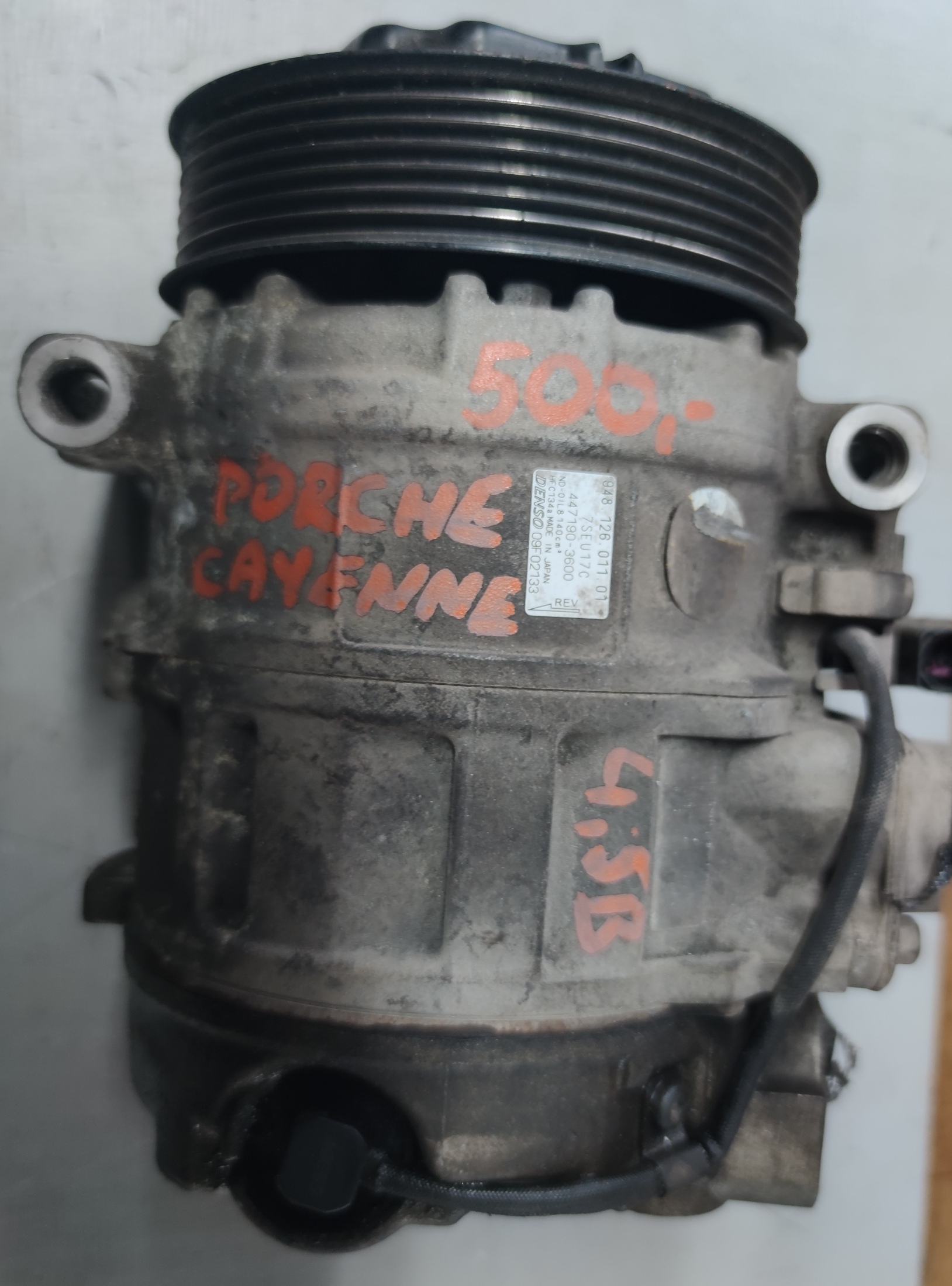 Sprężarka Klimatyzacji Porche Cayenne 4.5 B 447190-3600
