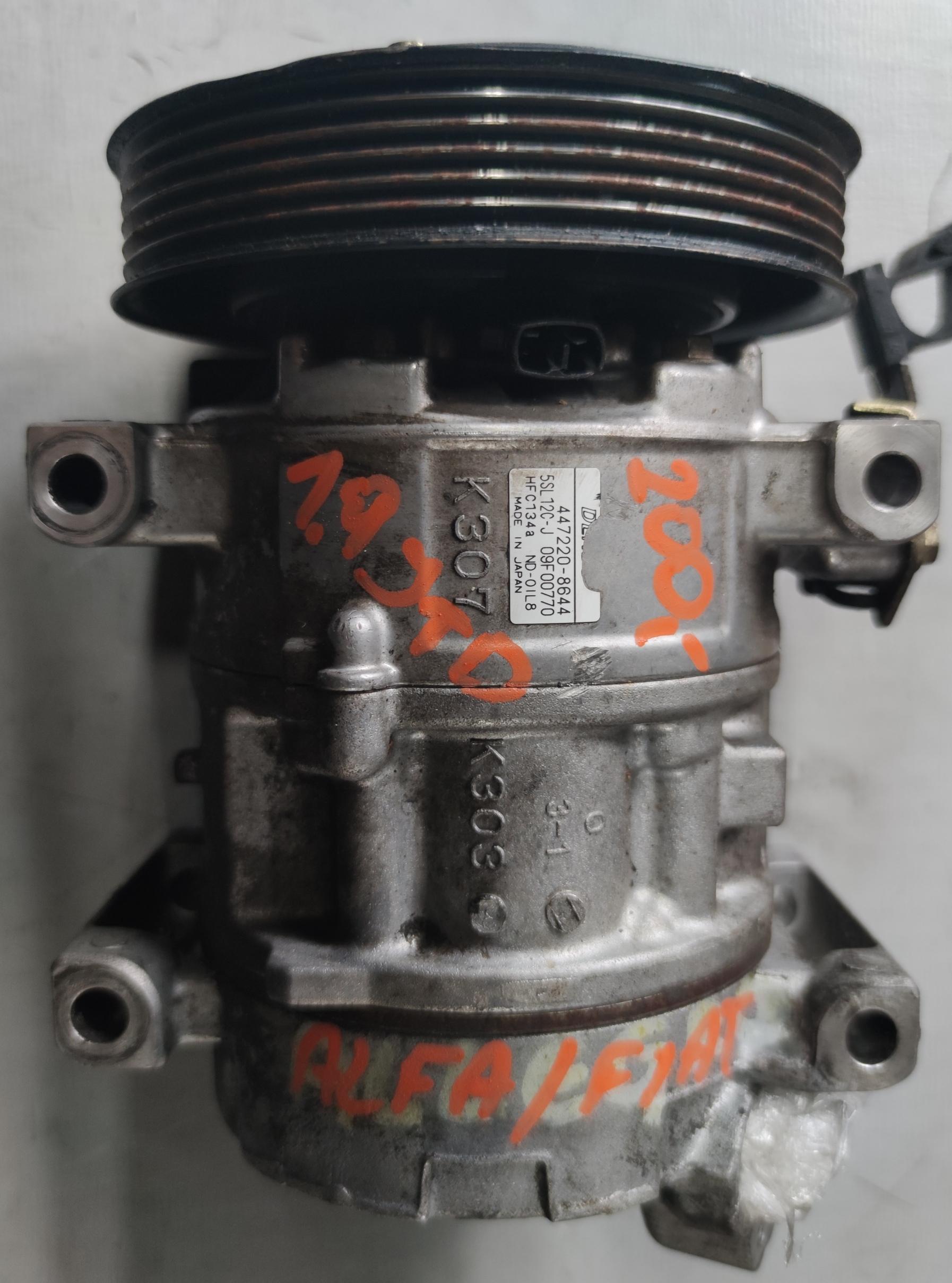 Sprężarka Klimatyzacji FIAT 1.9 JTD 447220-8644