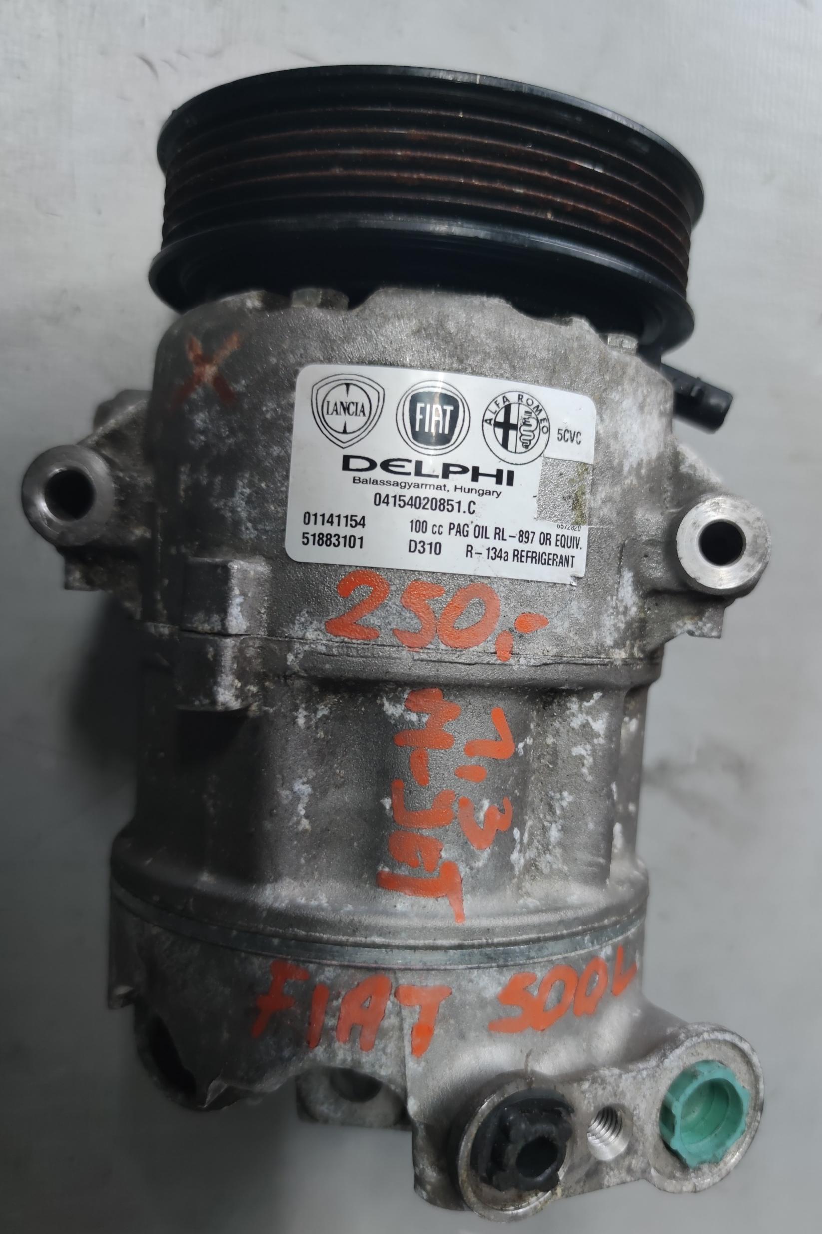 Sprężarka Klimatyzacji FIAT 1.3 MJET 51883101
