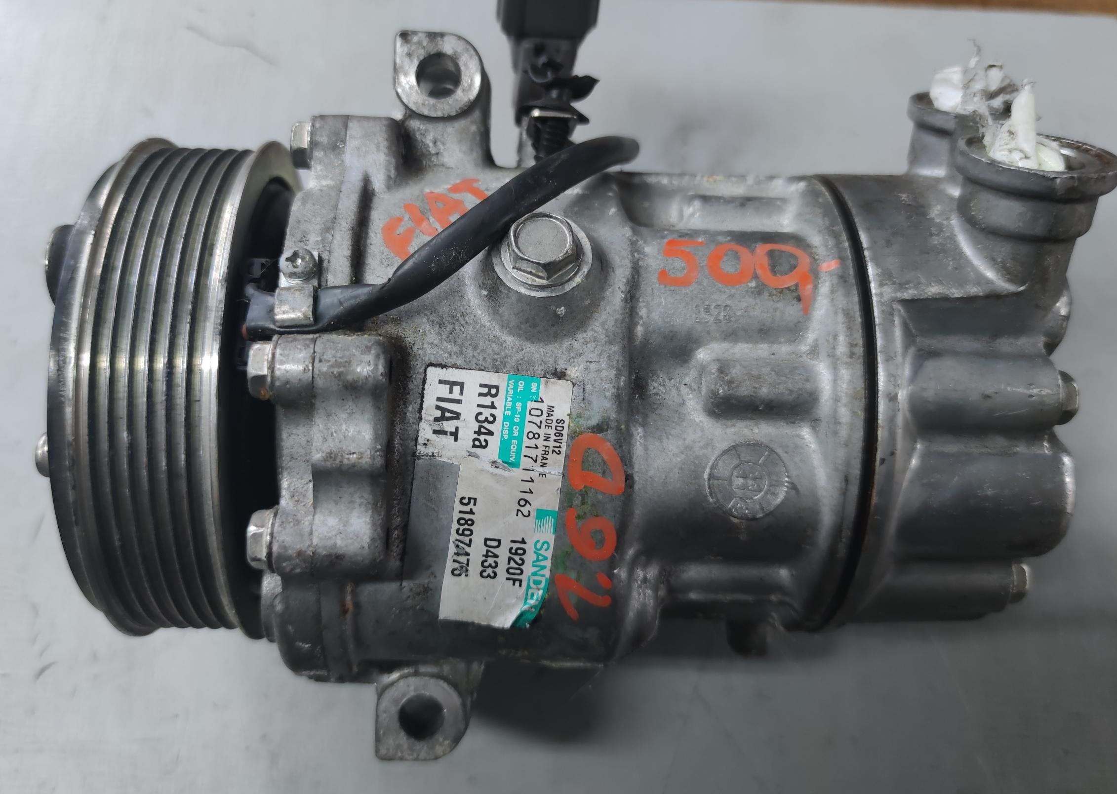 Sprężarka Klimatyzacji fiat 1.6 D SANDEM1920F