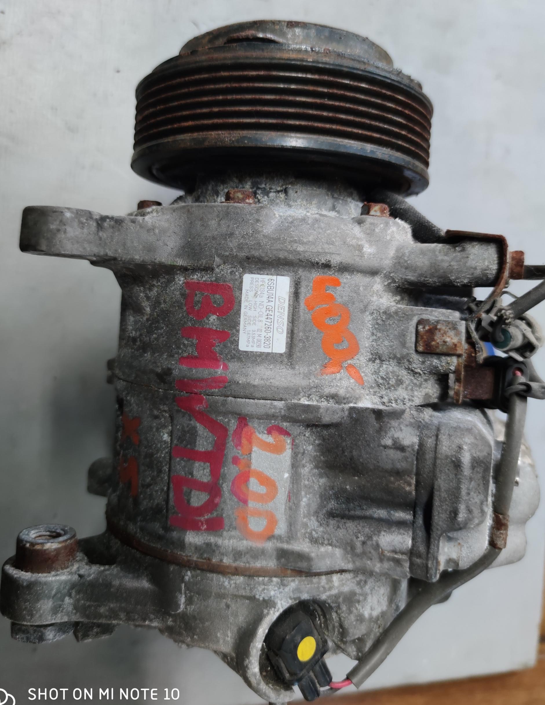 Sprężarka klimatyzacji BMW 2.0 d 447260-3820