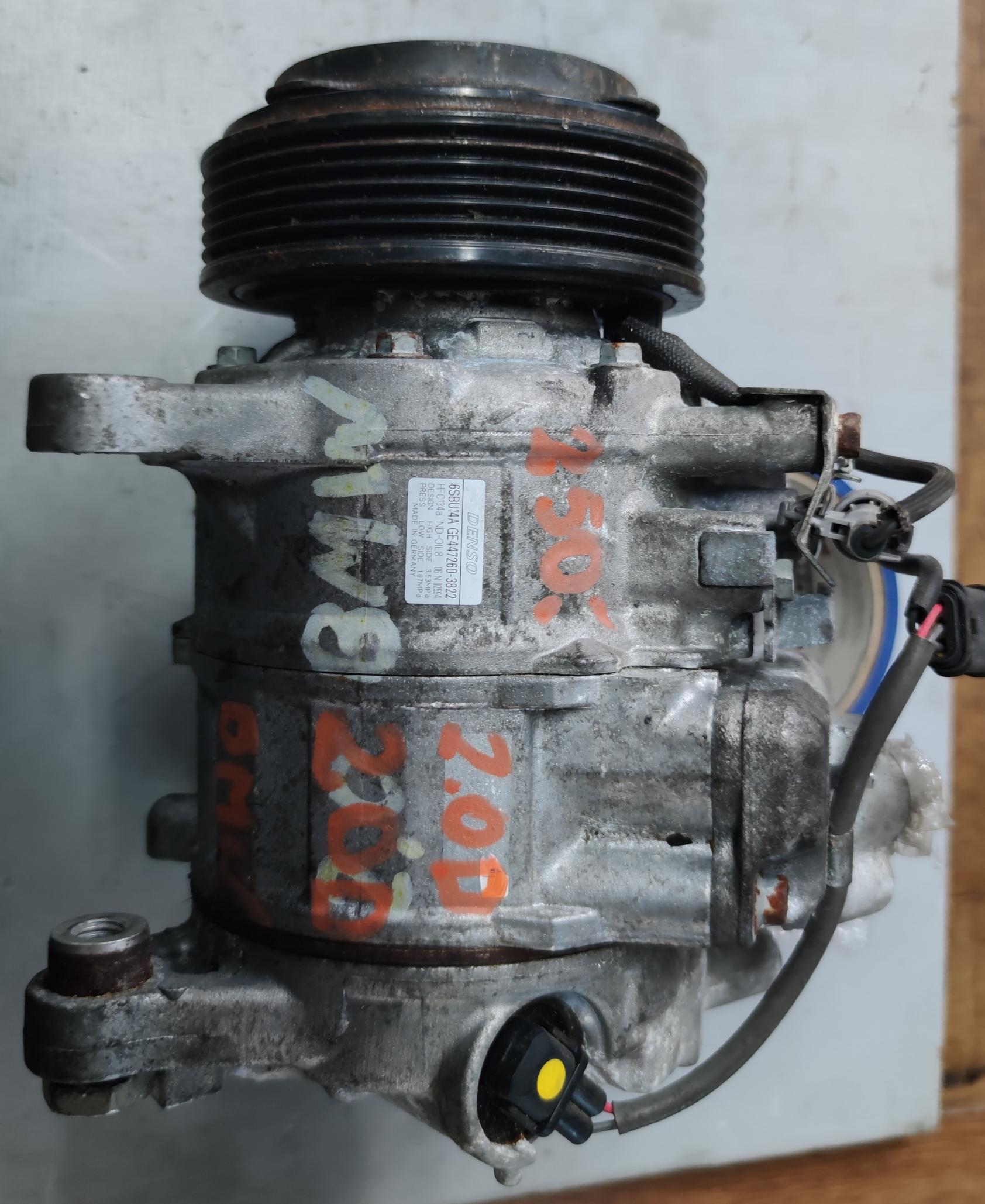 Sprężarka klimatyzacji BMW 2.0 d 447260-3822