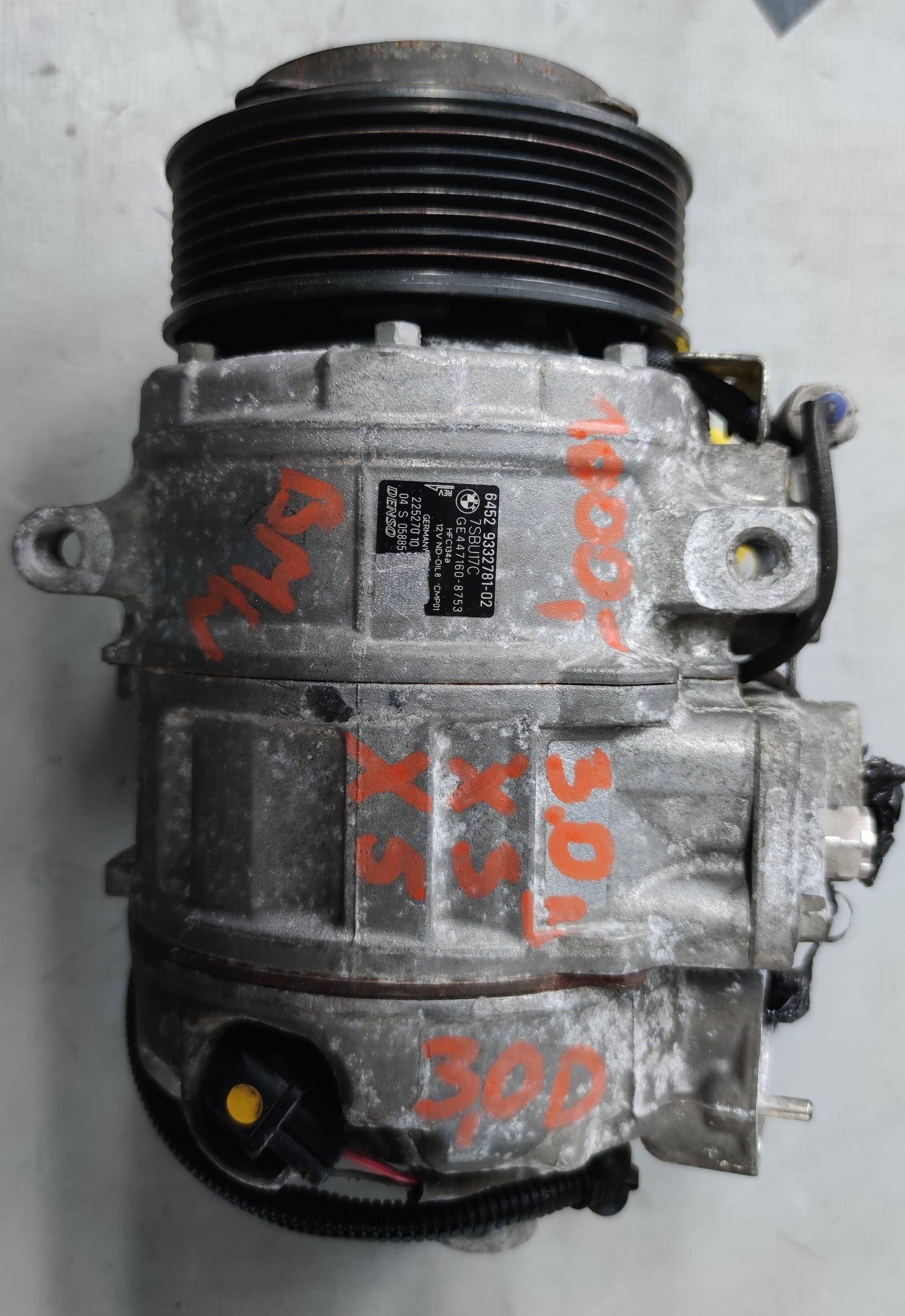 Sprężarka Klimatyzacji BMW 3.0 D 447160-8753