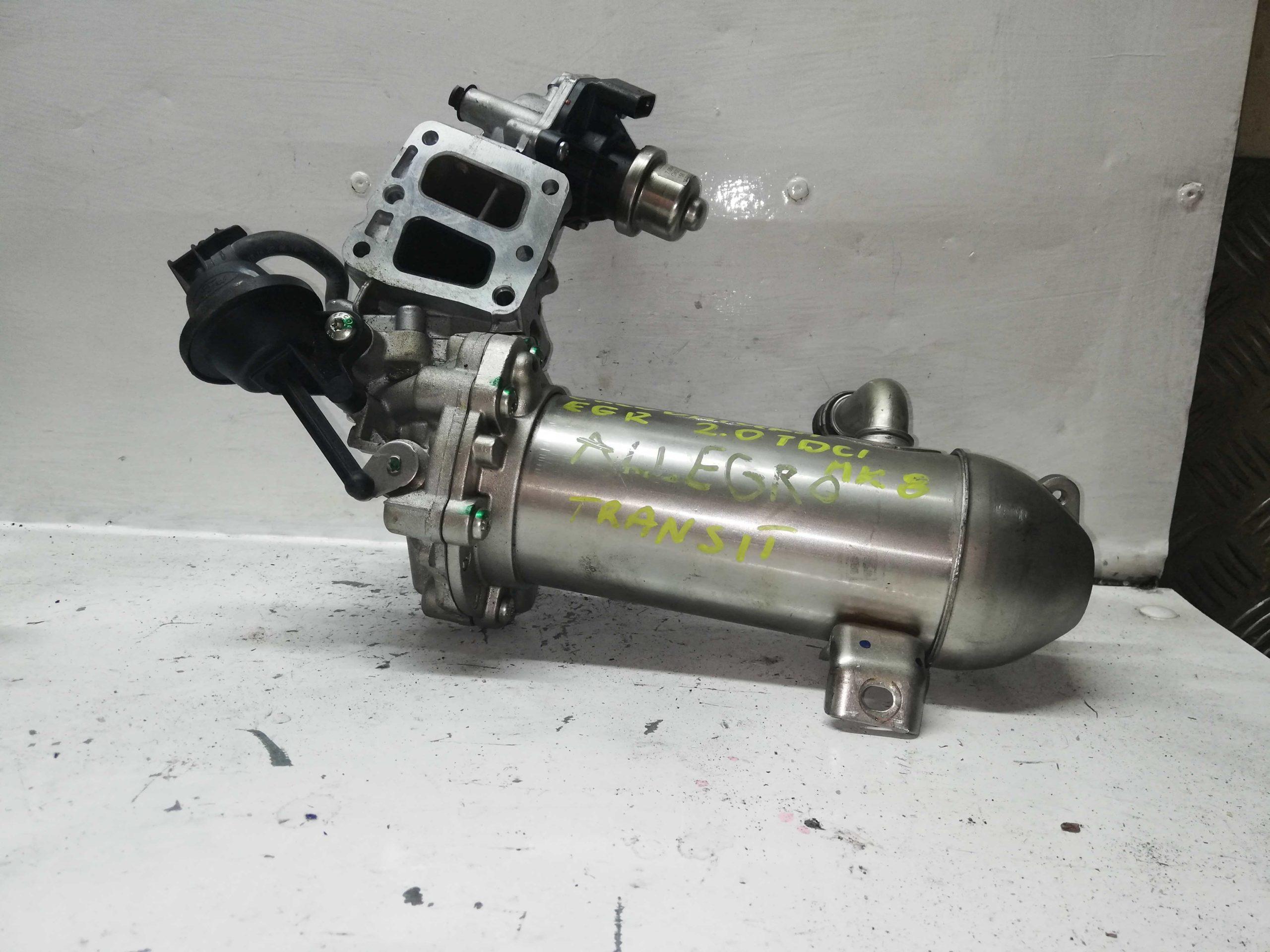 Chłodnica Spalin EGR Ford 2.0 TDCI gk2q-9f464-ac gk2q-9u438-ab